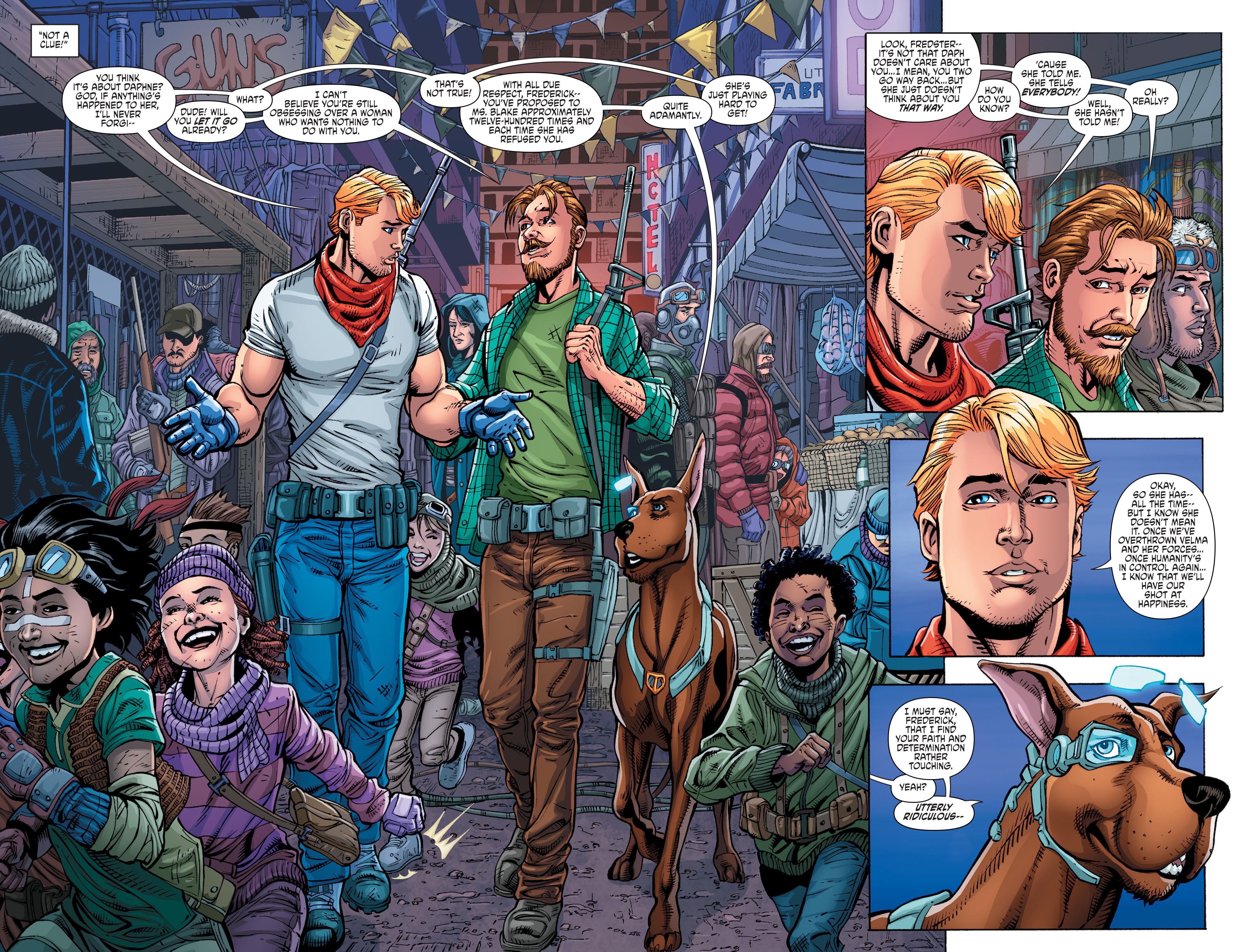 Read online Scooby Apocalypse comic -  Issue #10 - 10