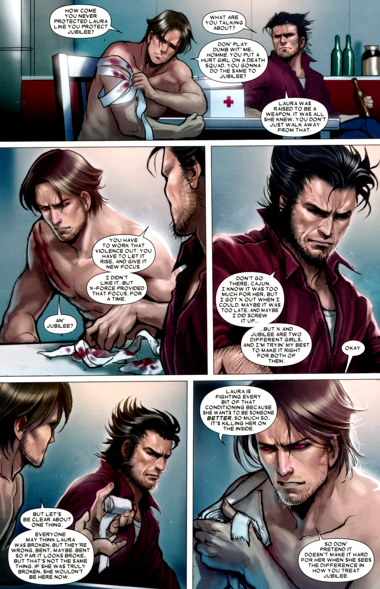 Read online X-23 (2010) comic -  Issue #10 - 20