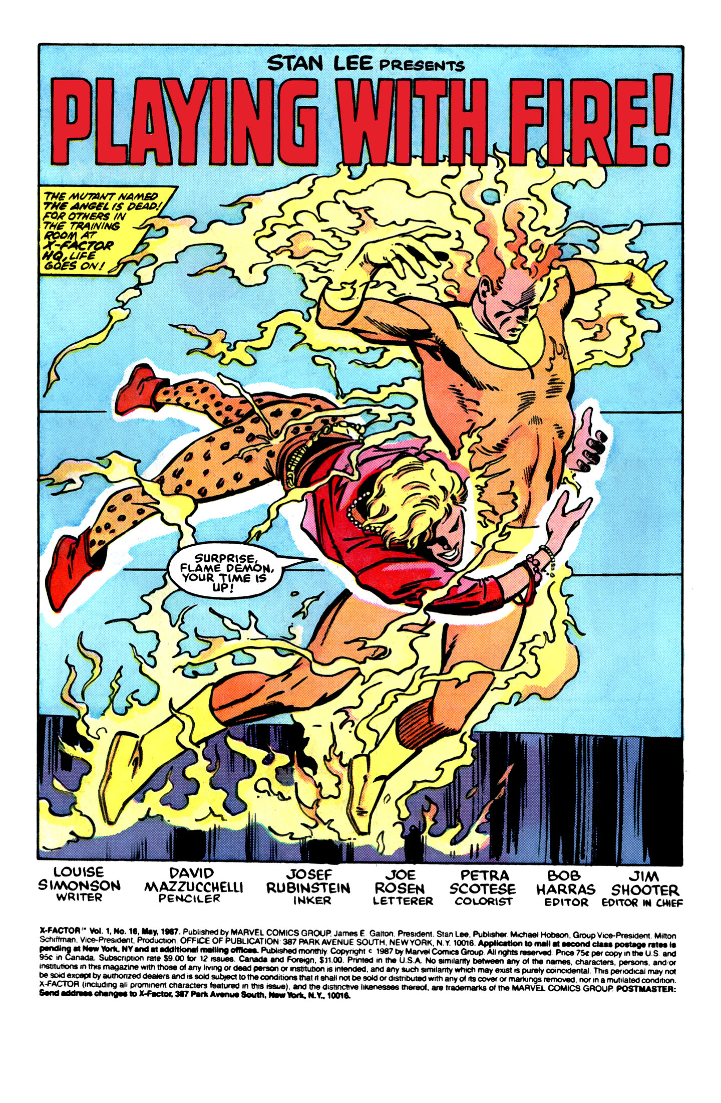 Read online X-Factor (1986) comic -  Issue #16 - 2