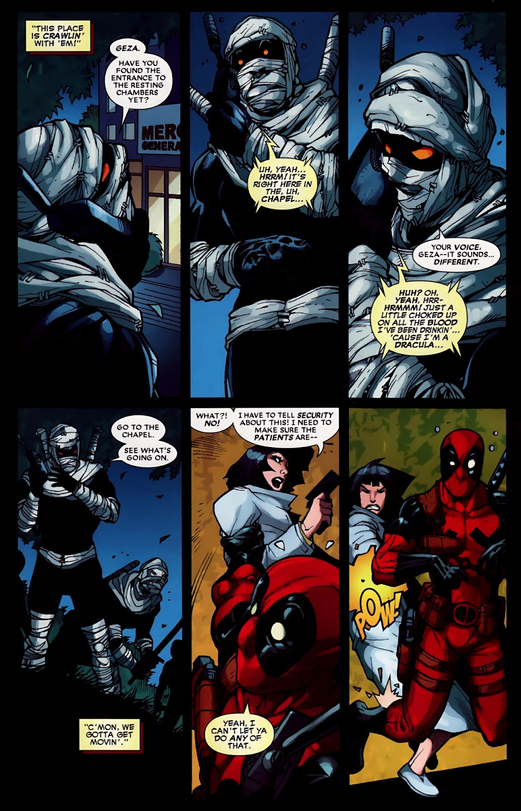 Read online Deadpool (2008) comic -  Issue #30 - 17