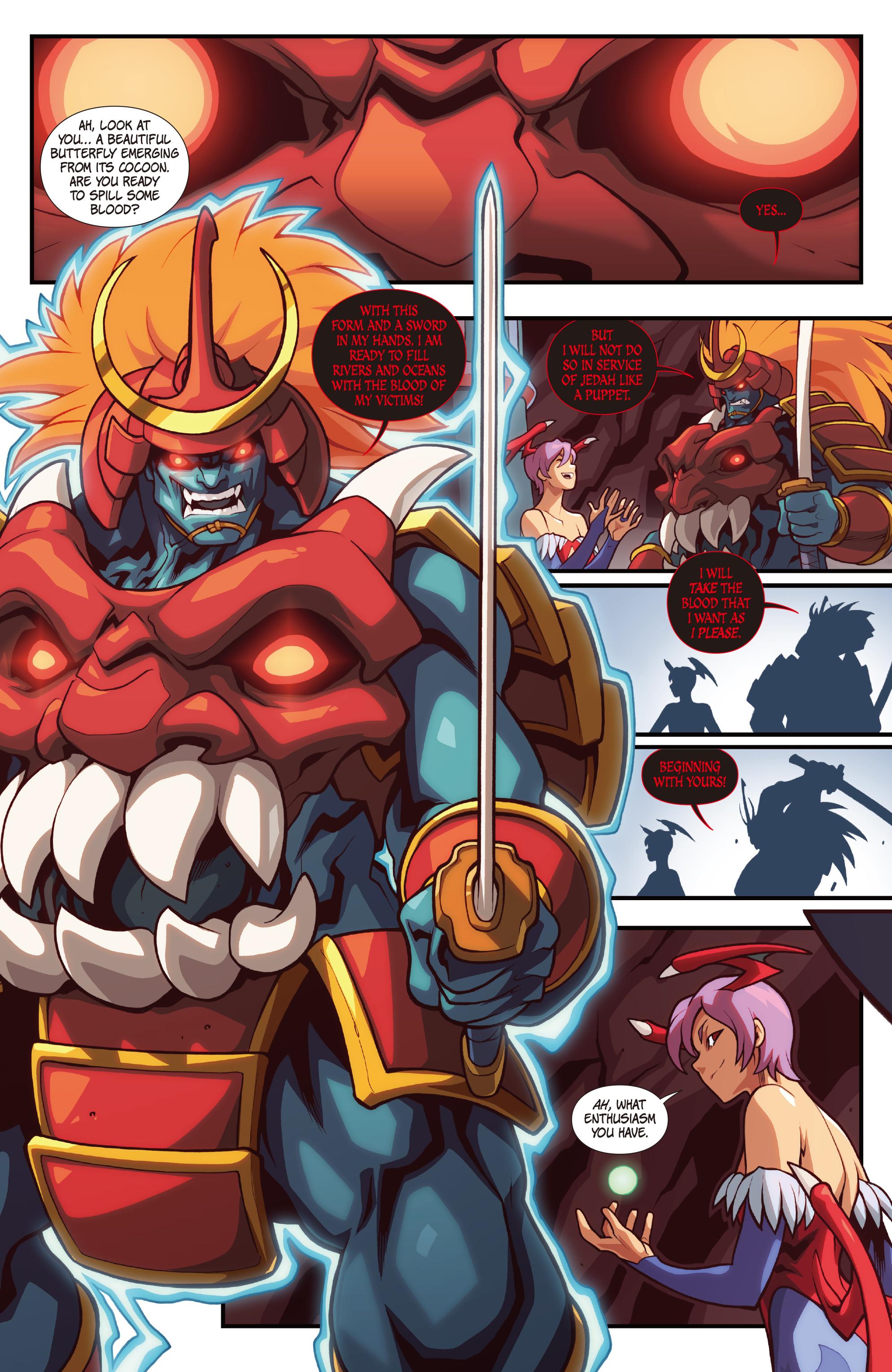 Read online Street Fighter VS Darkstalkers comic -  Issue #2 - 6
