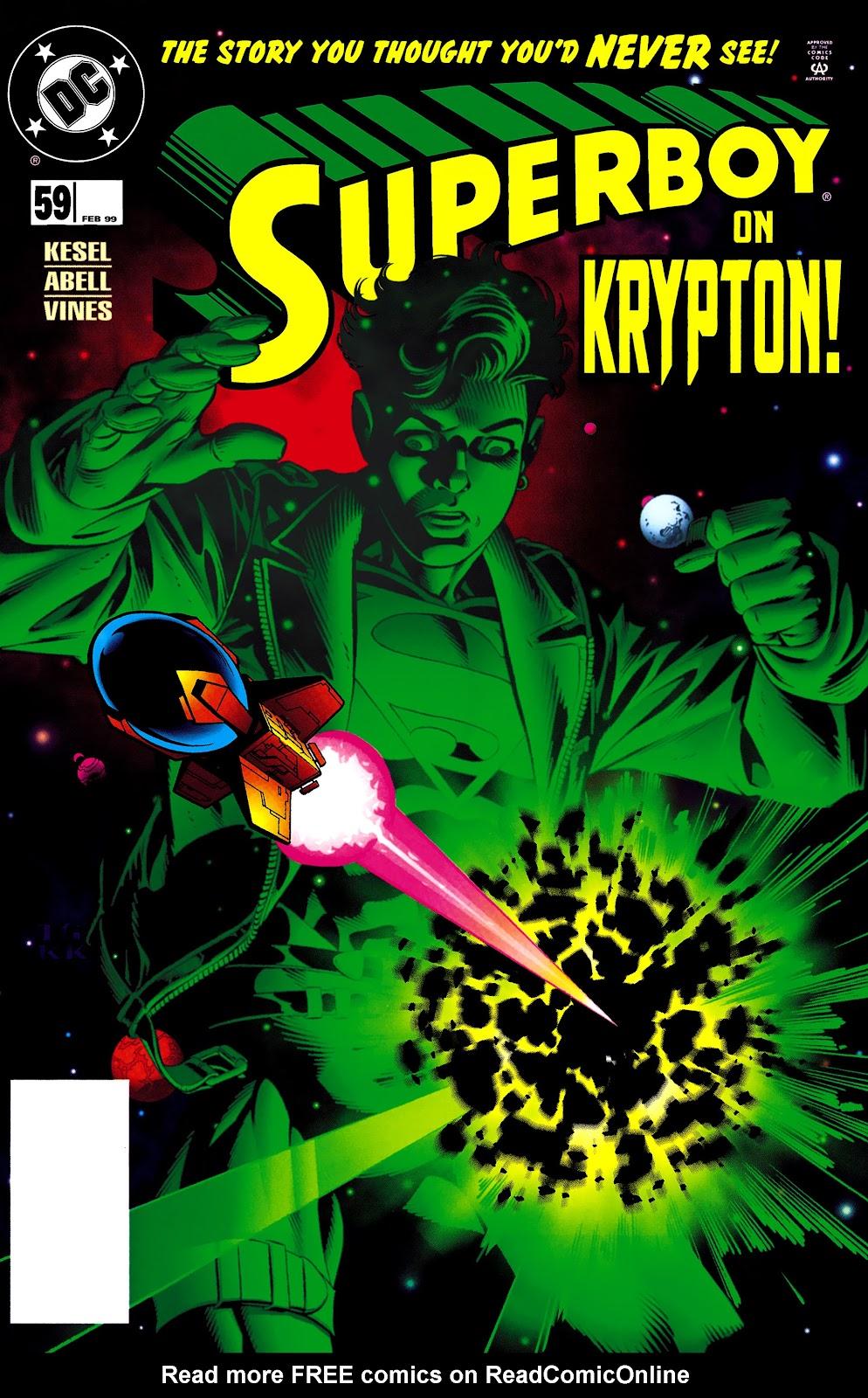 Superboy (1994) 59 Page 1