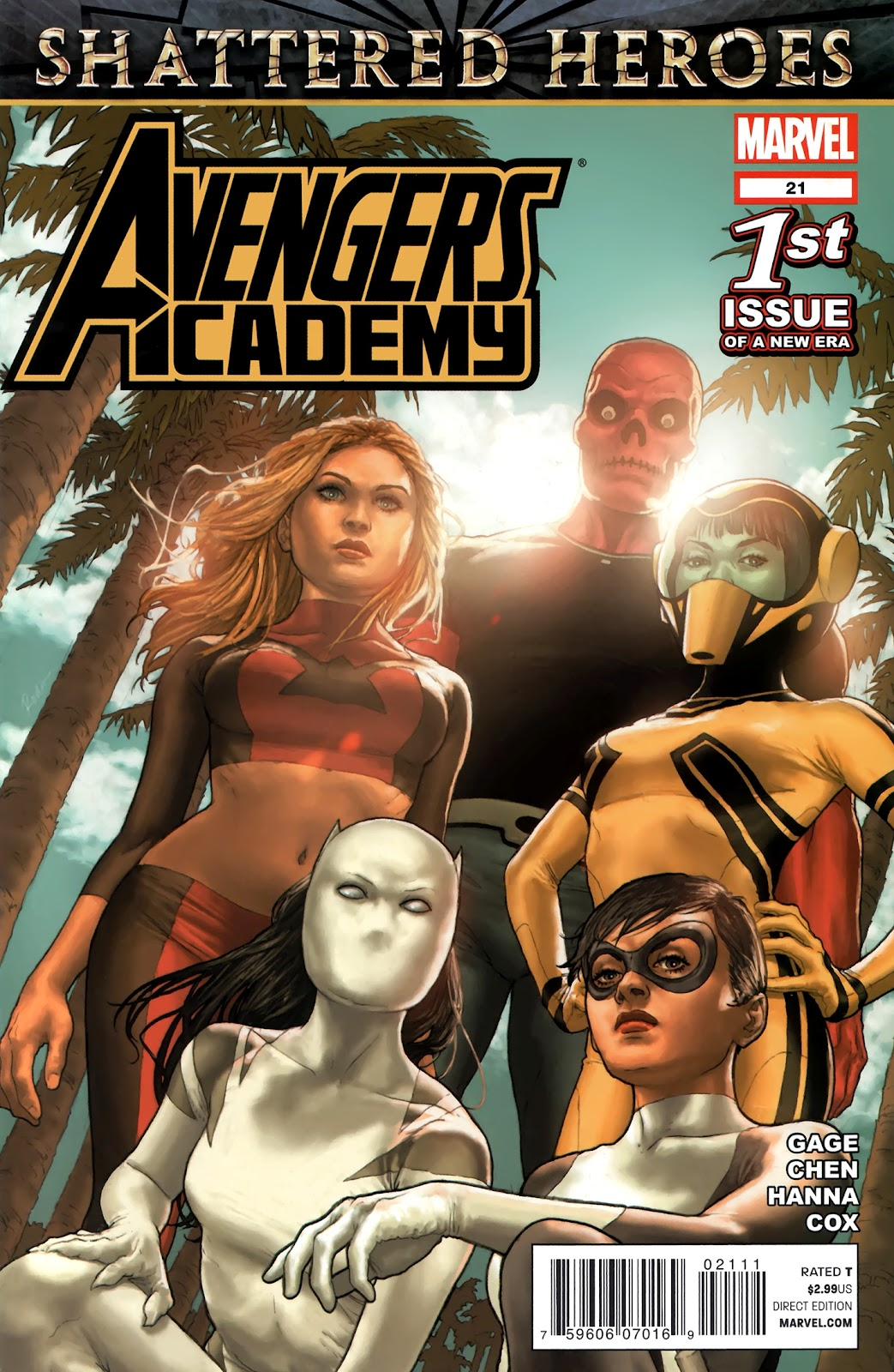 Avengers Academy issue 21 - Page 1