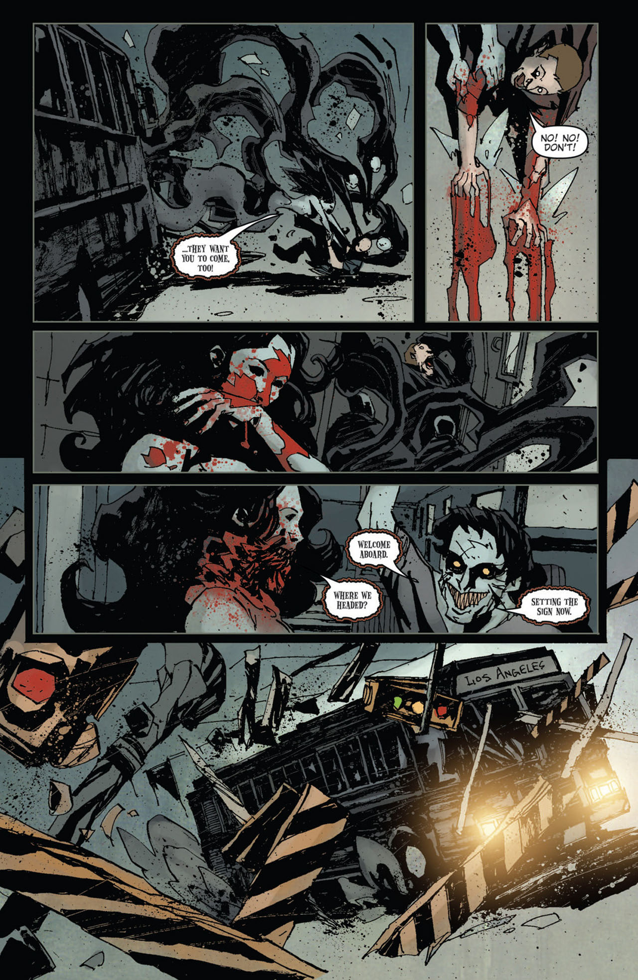 Read online 30 Days of Night (2011) comic -  Issue #10 - 6