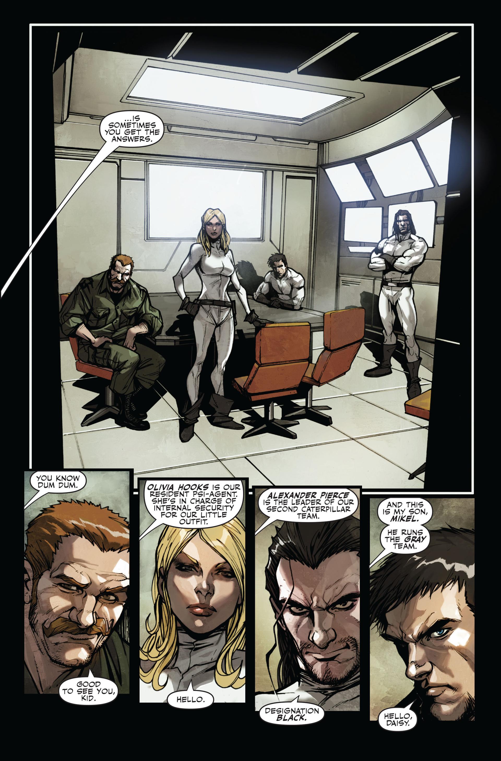 Read online Secret Warriors comic -  Issue #11 - 23