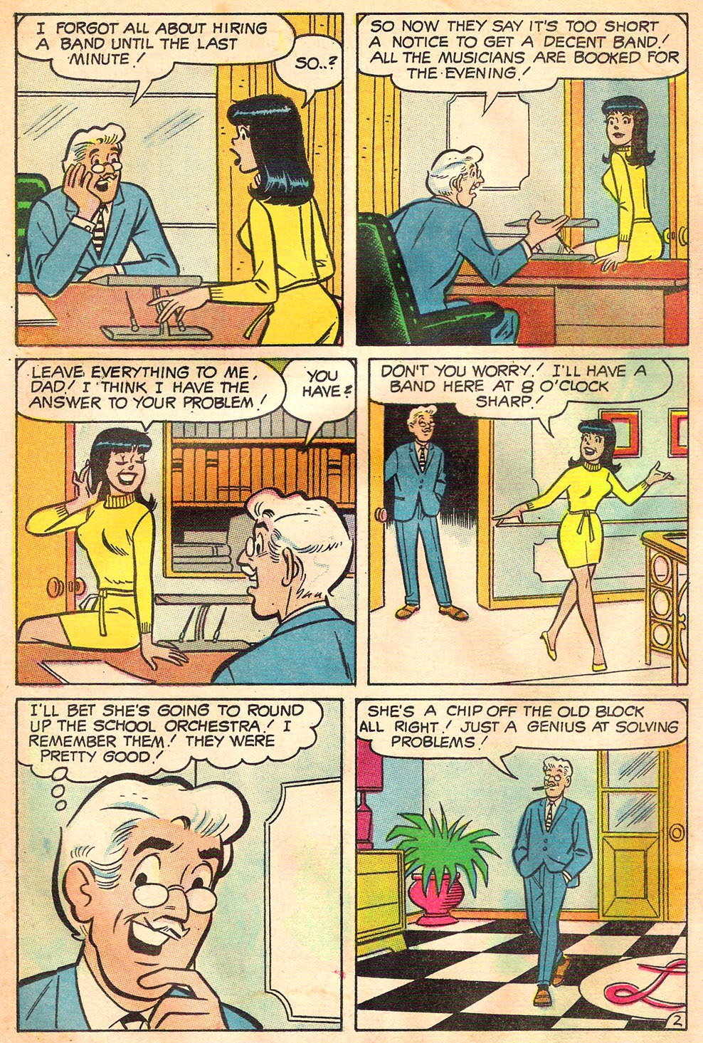 Read online Archie's Girls Betty and Veronica comic -  Issue #157 - 14
