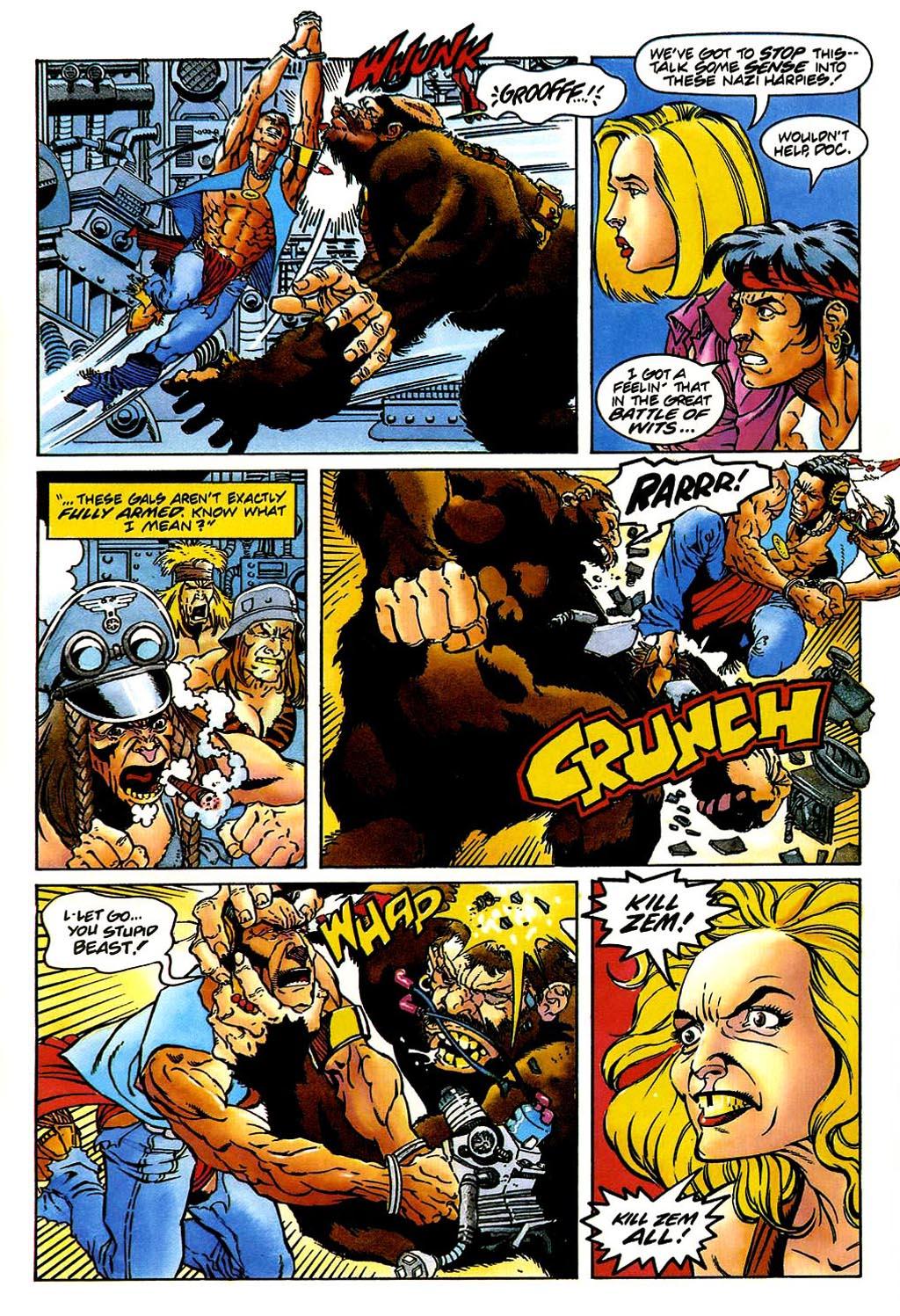 Read online Turok, Dinosaur Hunter (1993) comic -  Issue #38 - 9