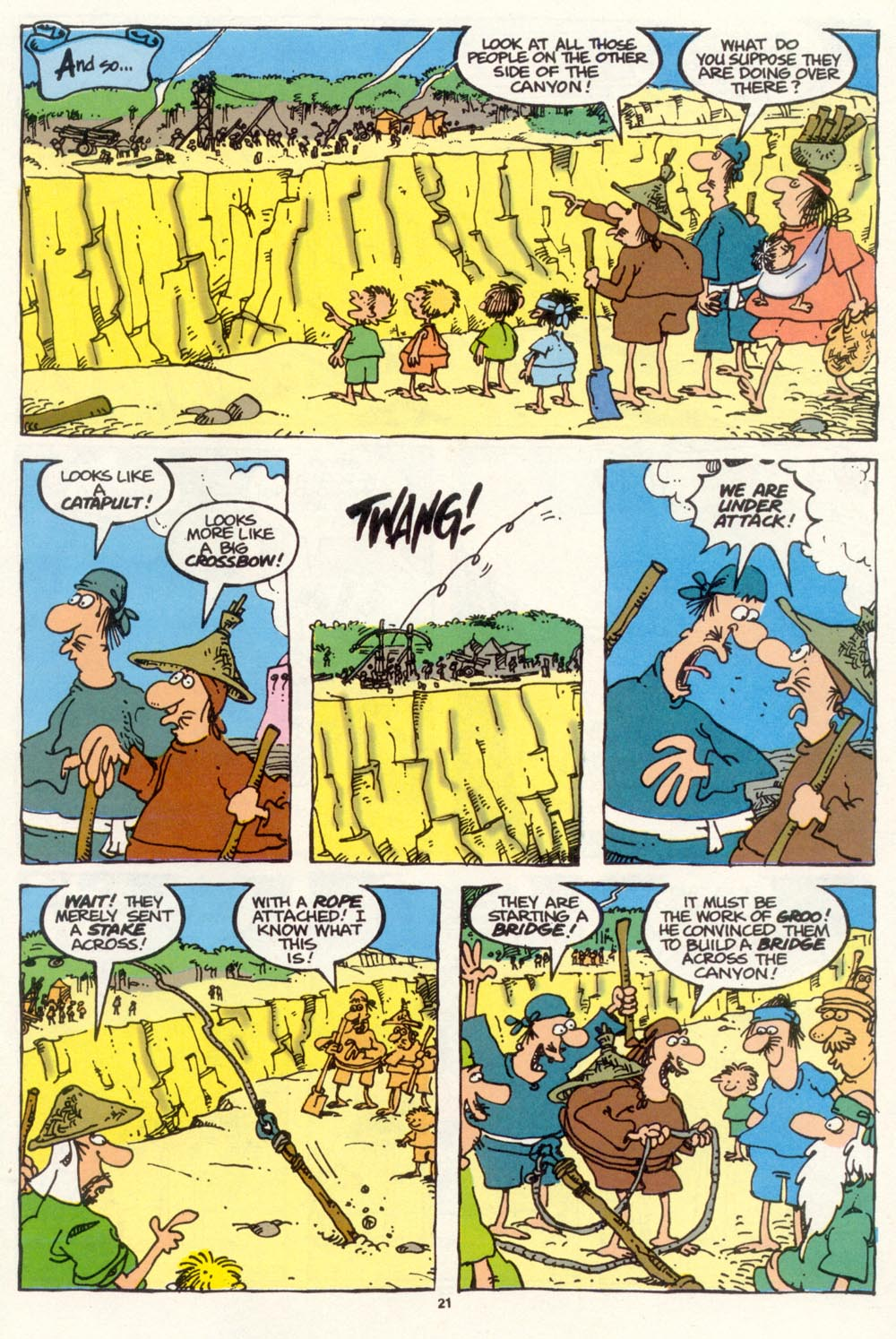 Read online Sergio Aragonés Groo the Wanderer comic -  Issue #102 - 23
