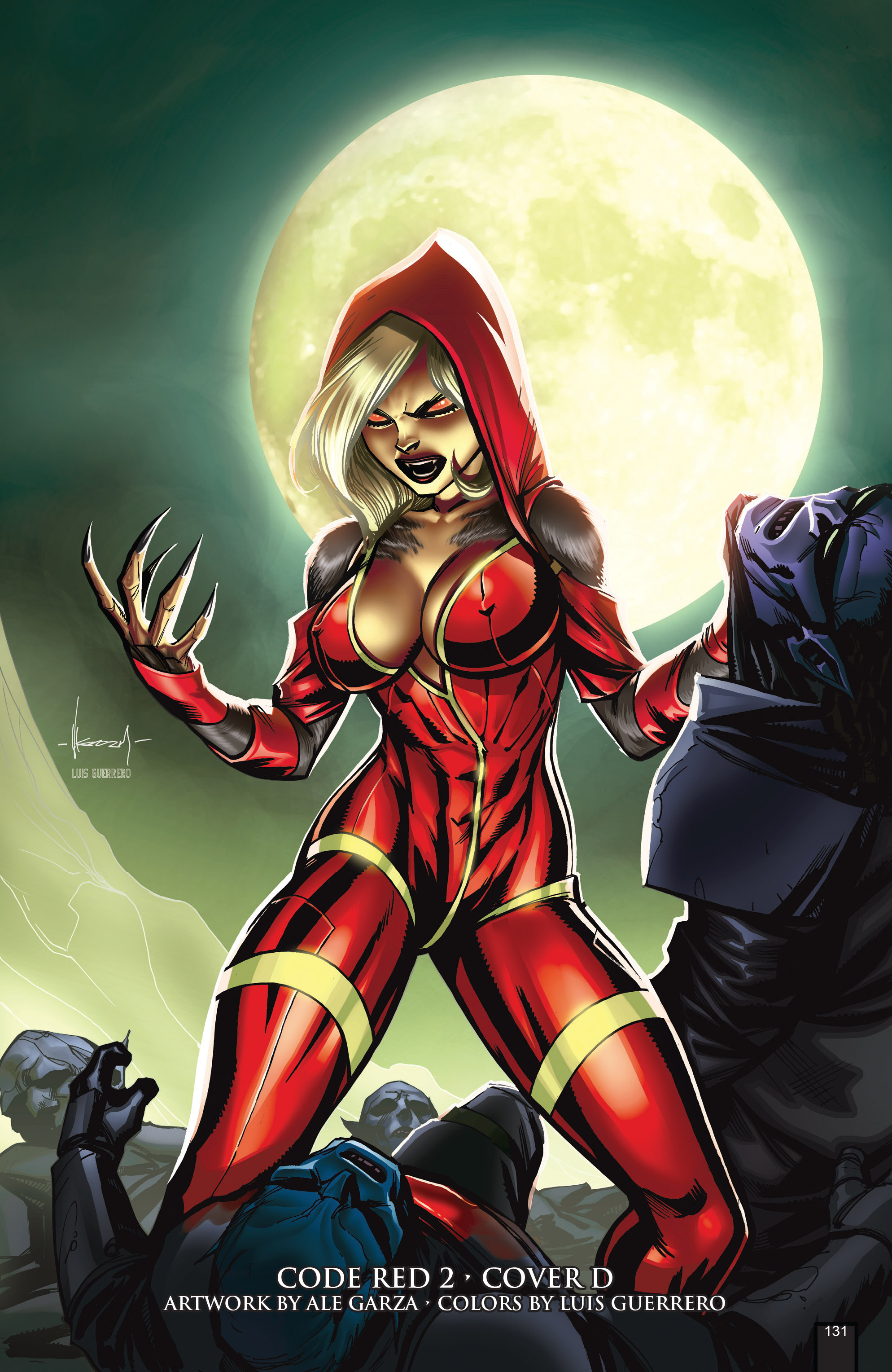 Read online Grimm Fairy Tales presents Code Red comic -  Issue # TPB - 131