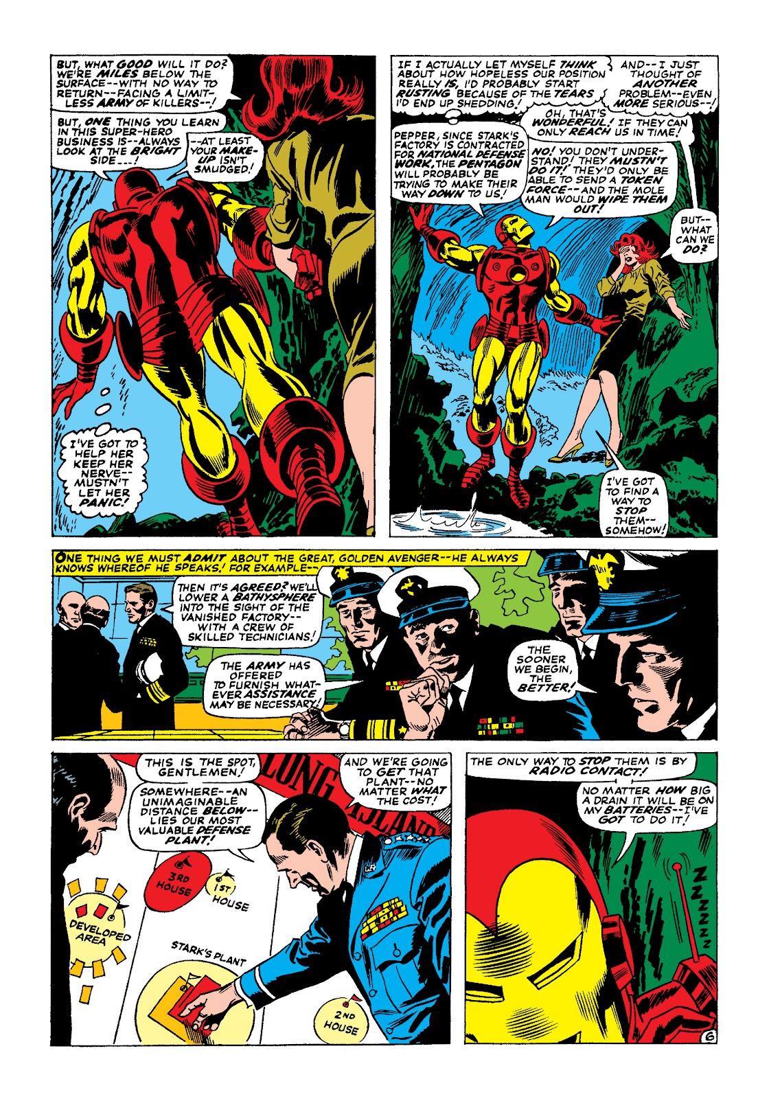 Read online Marvel Masterworks: The Invincible Iron Man comic -  Issue # TPB 4 (Part 1) - 64