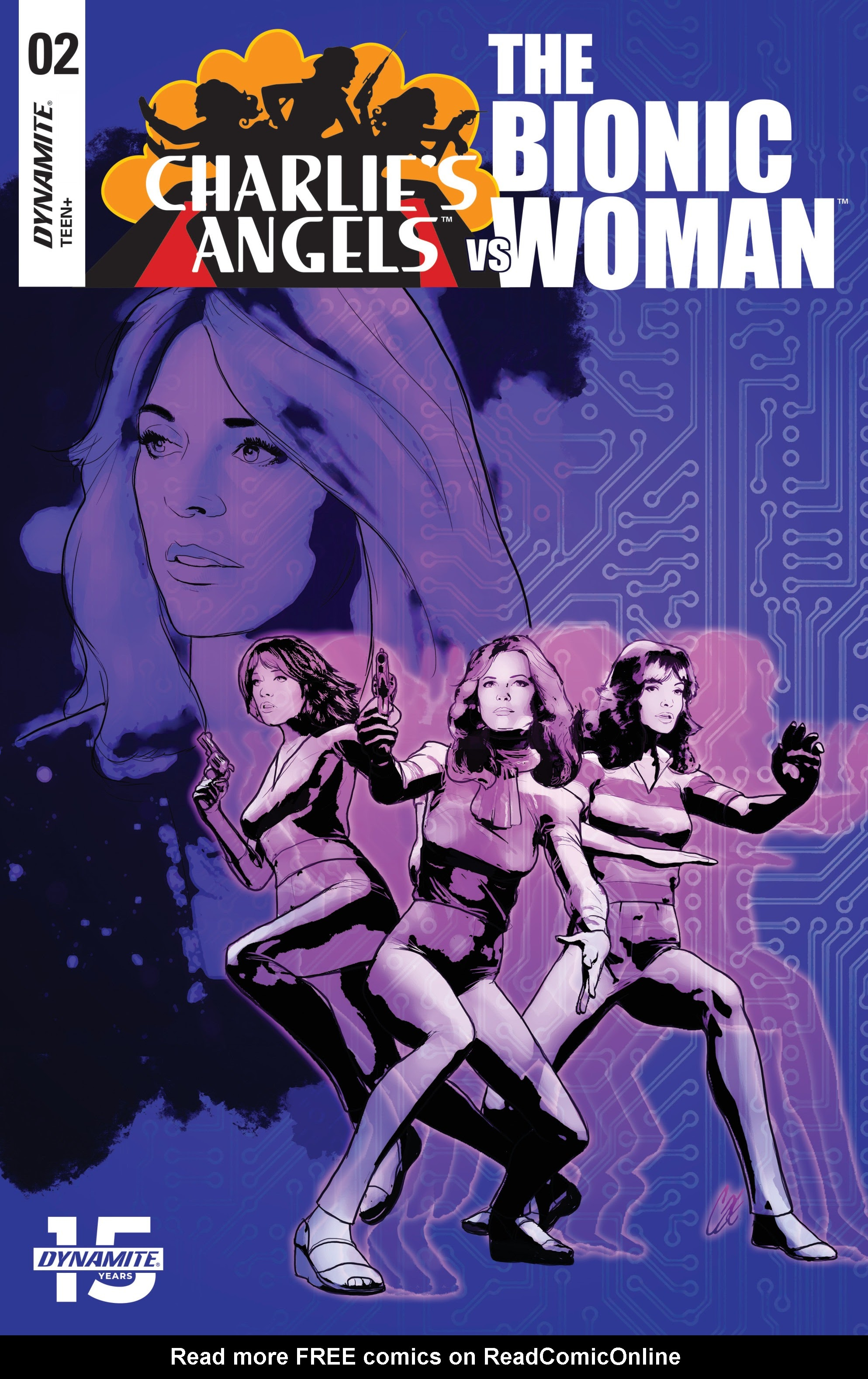 Charlies Angels vs. The Bionic Woman 2 Page 1