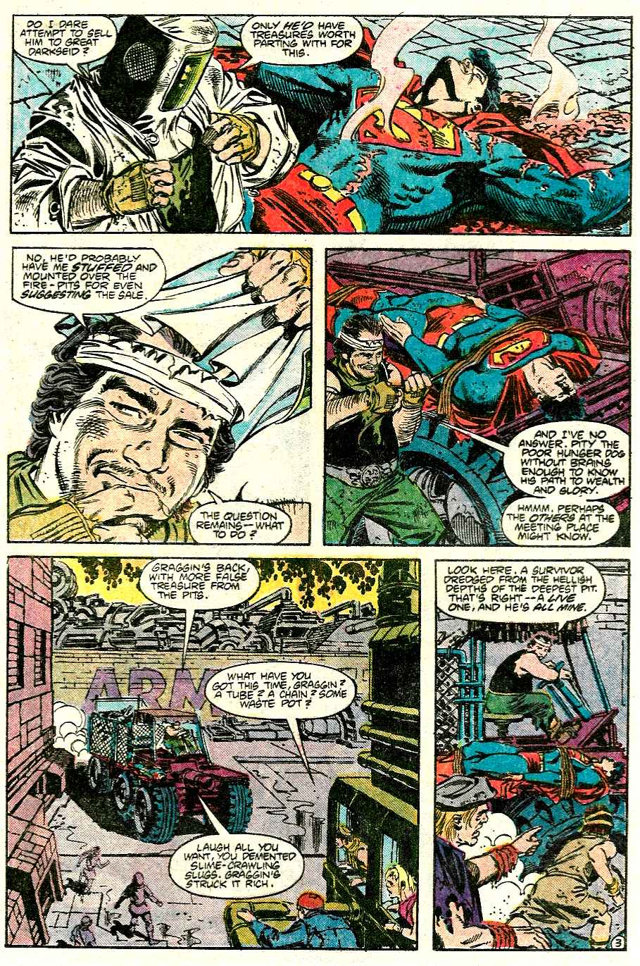 Read online Adventures of Superman (1987) comic -  Issue #426 - 4