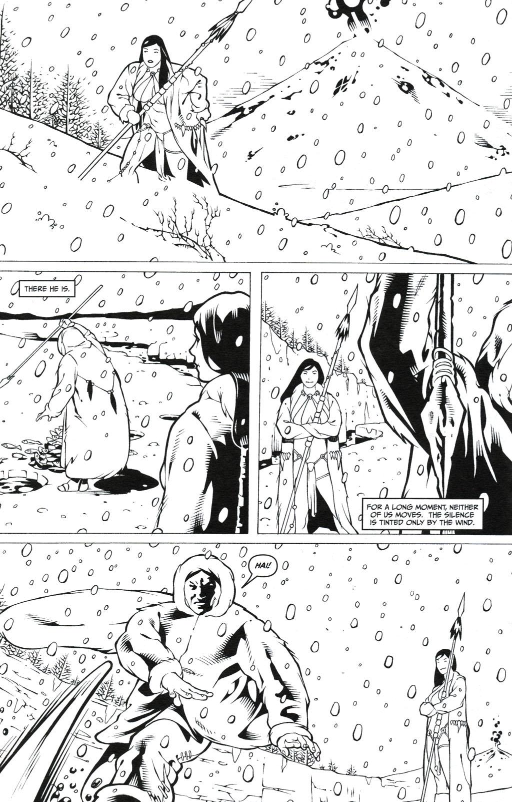 Read online Jungle Fantasy (2002) comic -  Issue #5 - 18