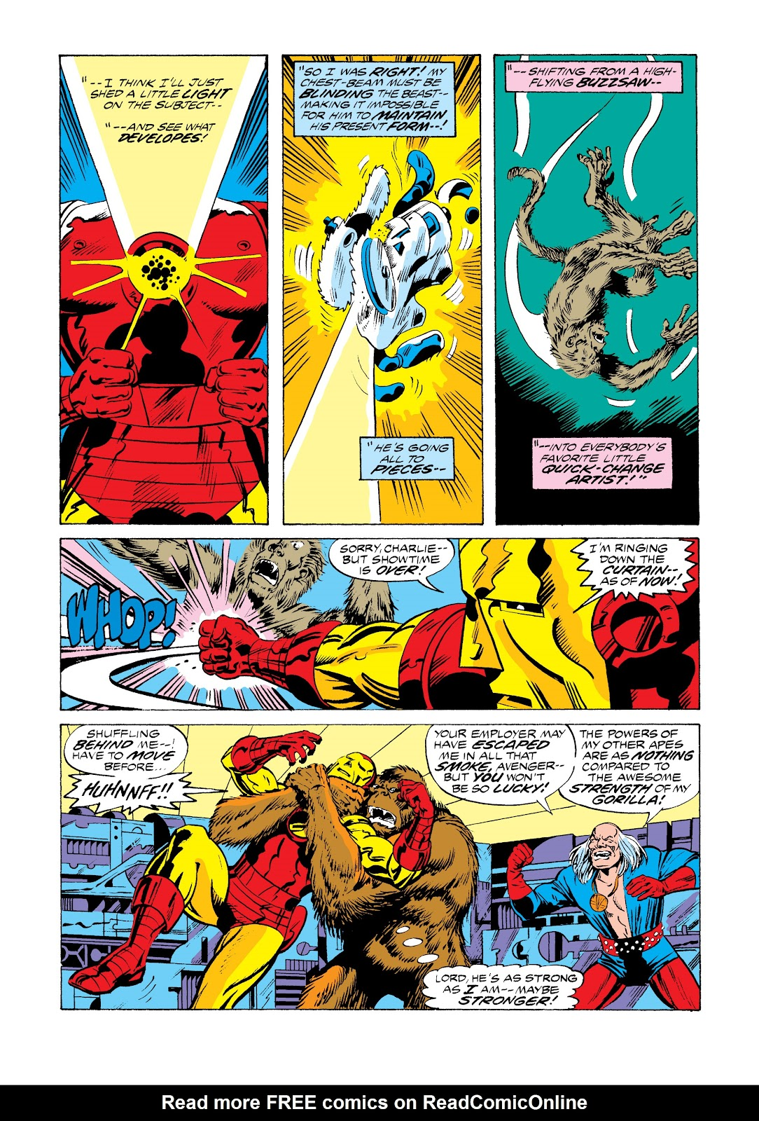 Read online Marvel Masterworks: The Invincible Iron Man comic -  Issue # TPB 11 (Part 1) - 42