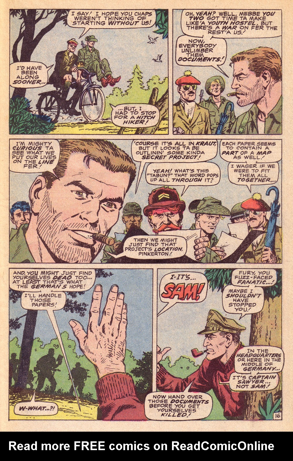 Read online Sgt. Fury comic -  Issue #74 - 23