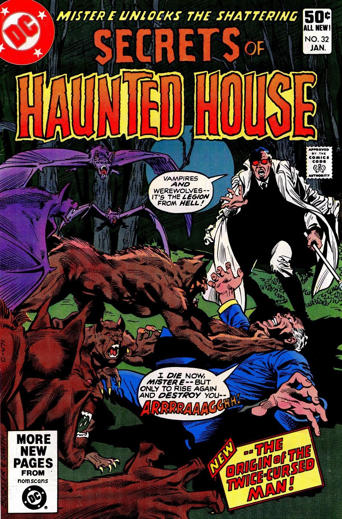 Read online Secrets of Haunted House comic -  Issue #32 - 1