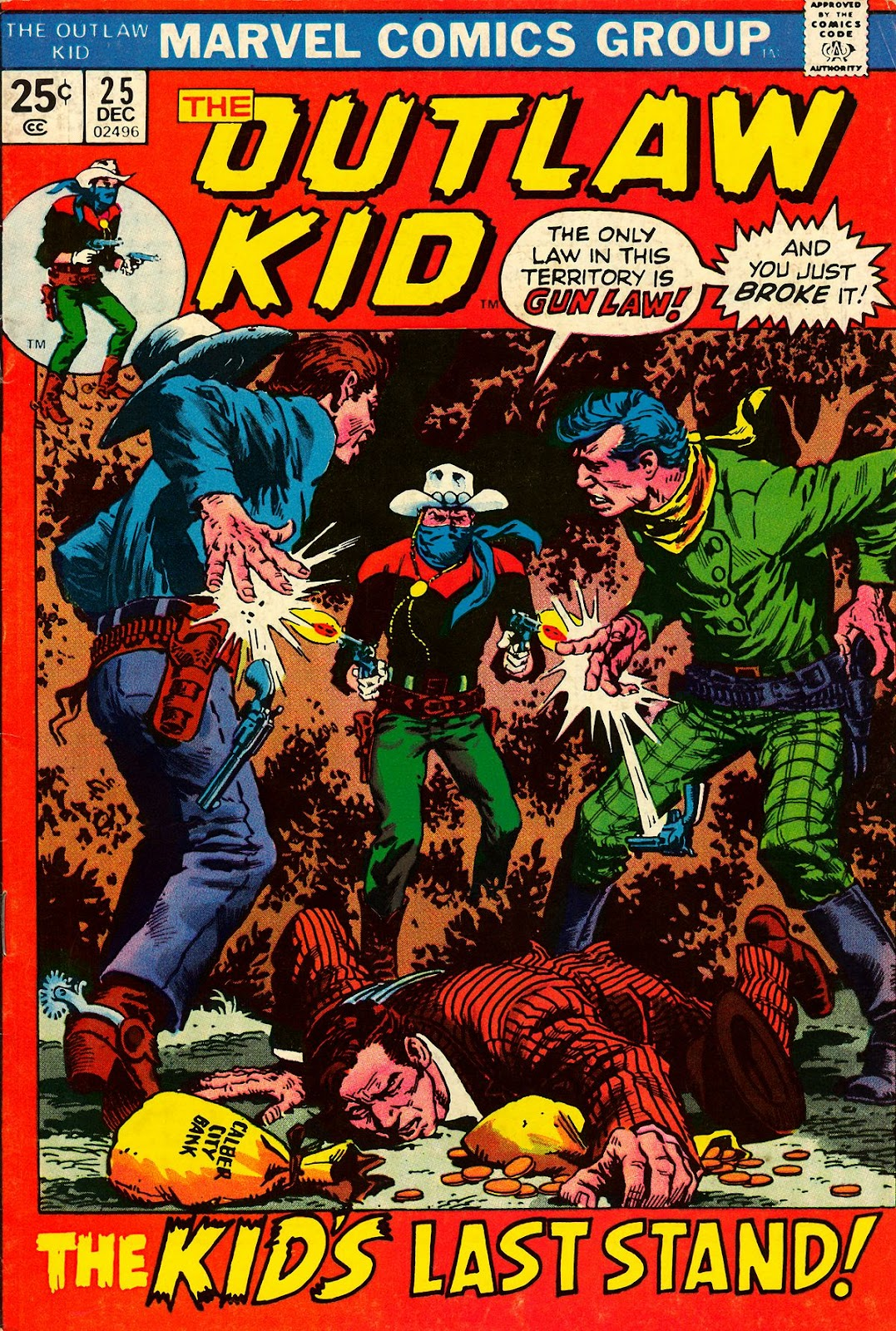 The Outlaw Kid (1970) issue 25 - Page 1