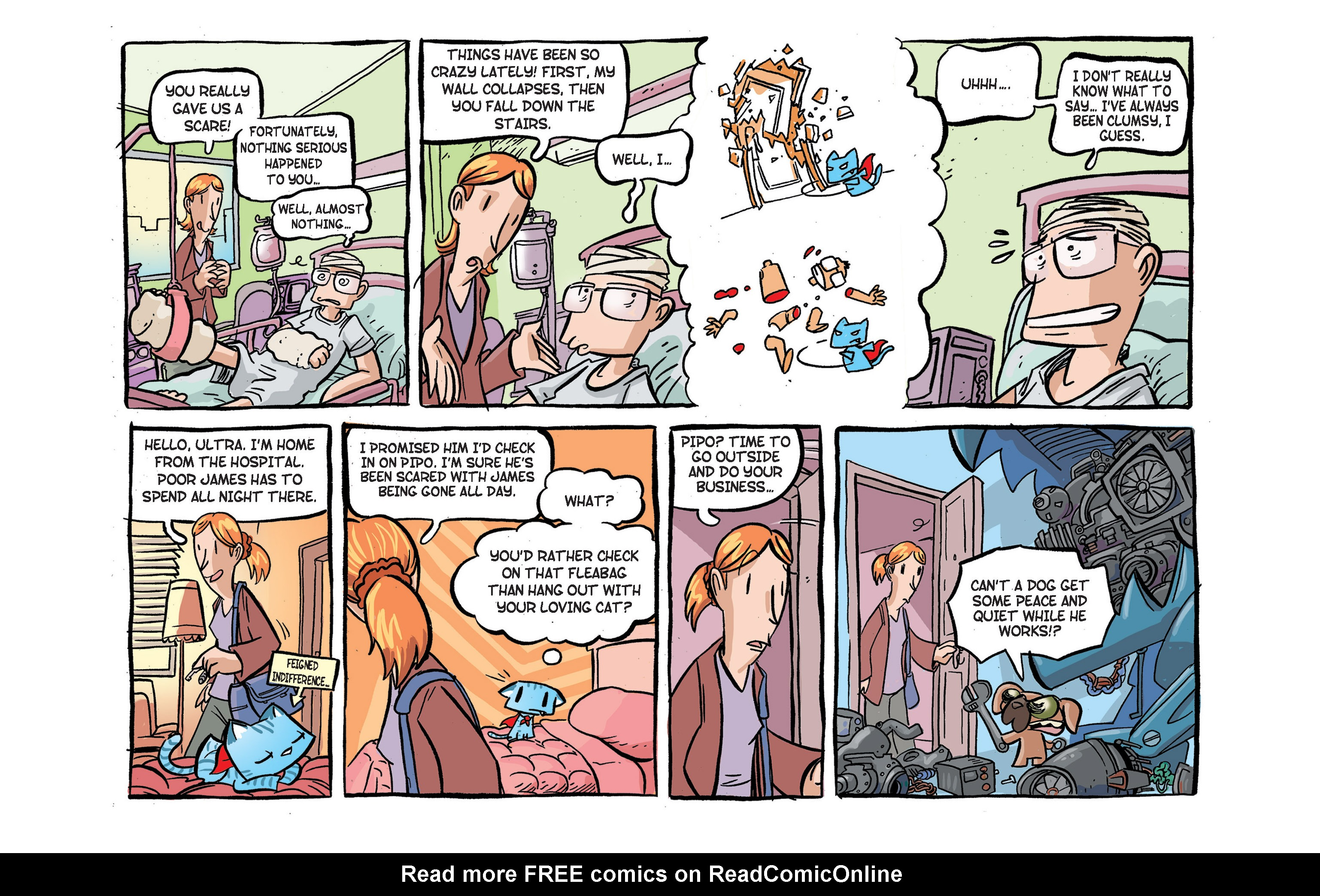 Read online Ultracat comic -  Issue #2 - 14