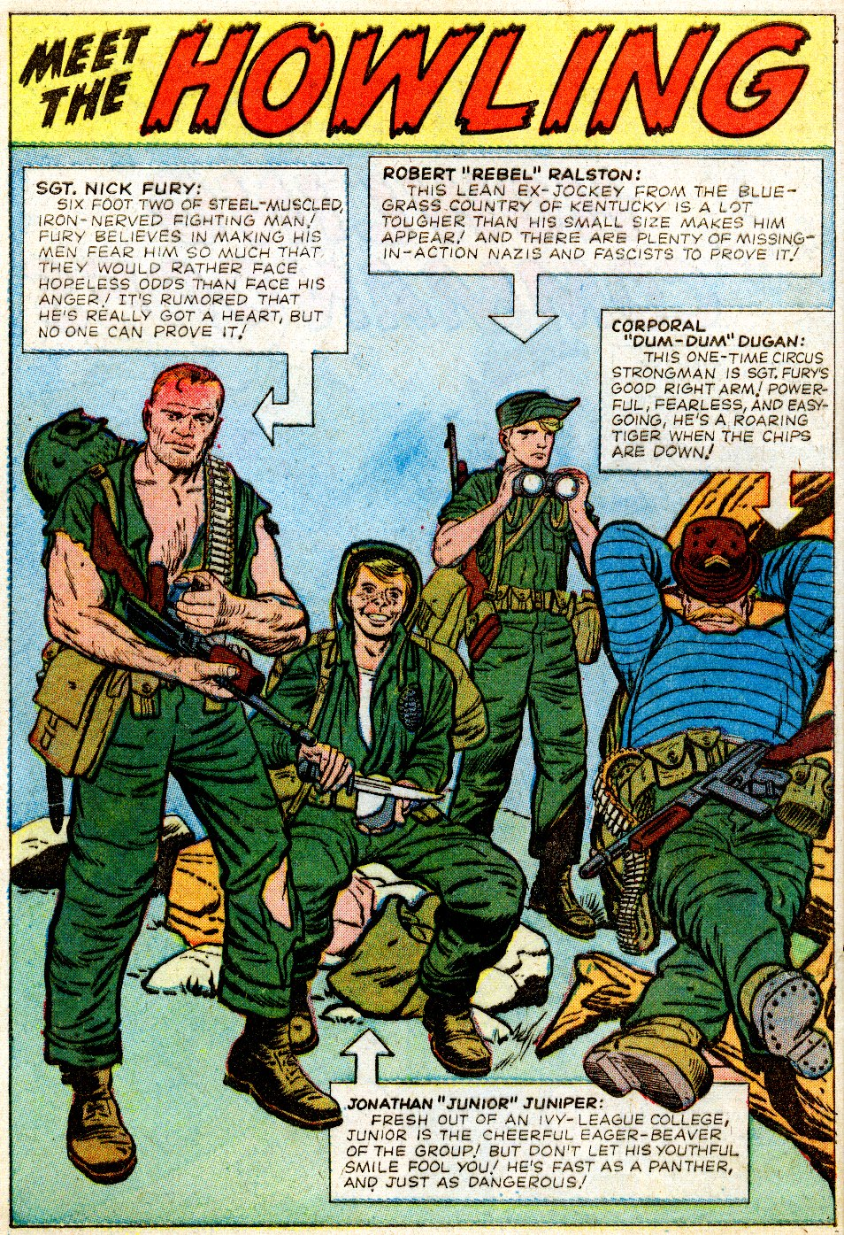 Read online Sgt. Fury comic -  Issue #1 - 4