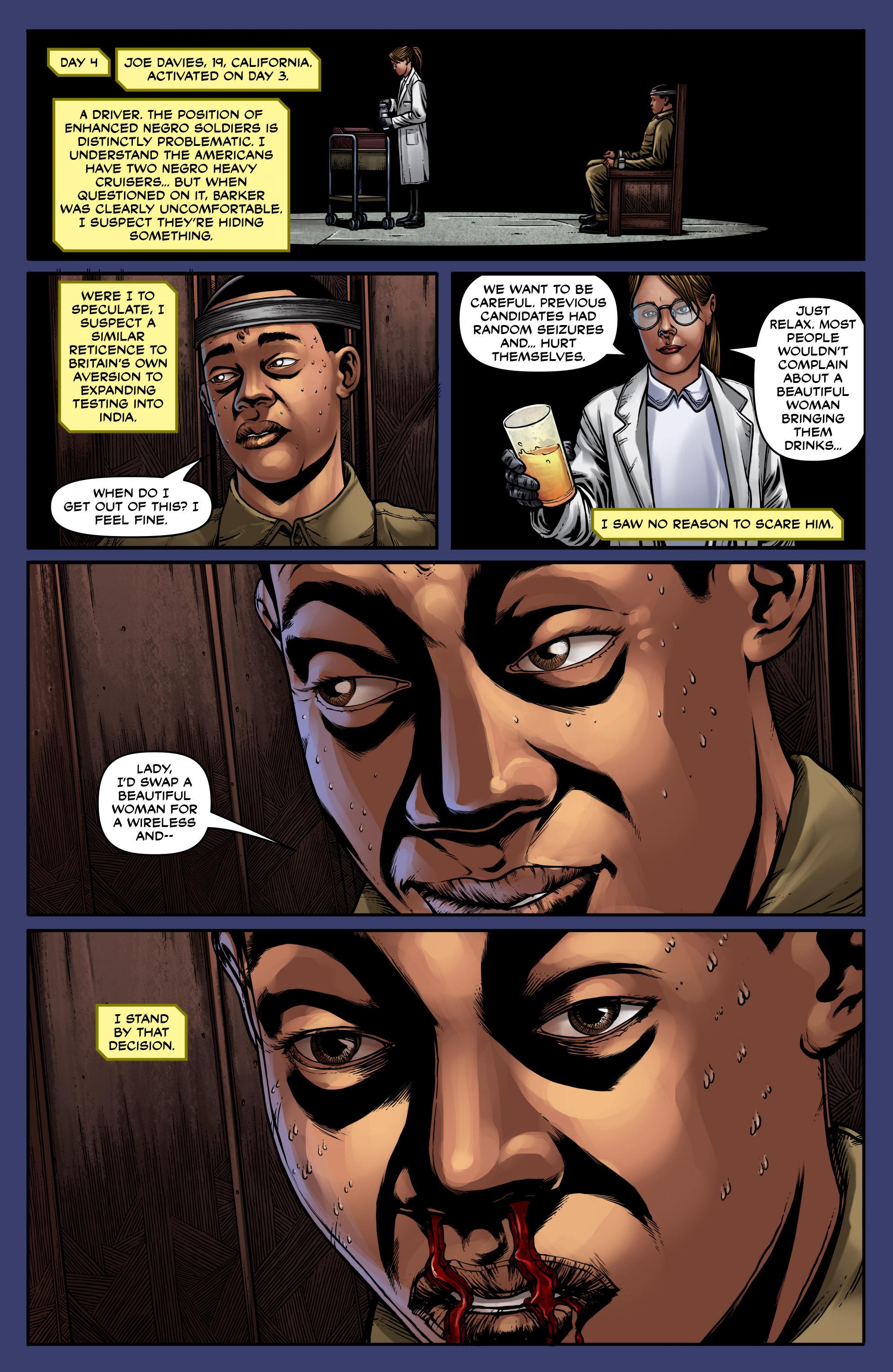 Read online Uber: Invasion comic -  Issue #5 - 17