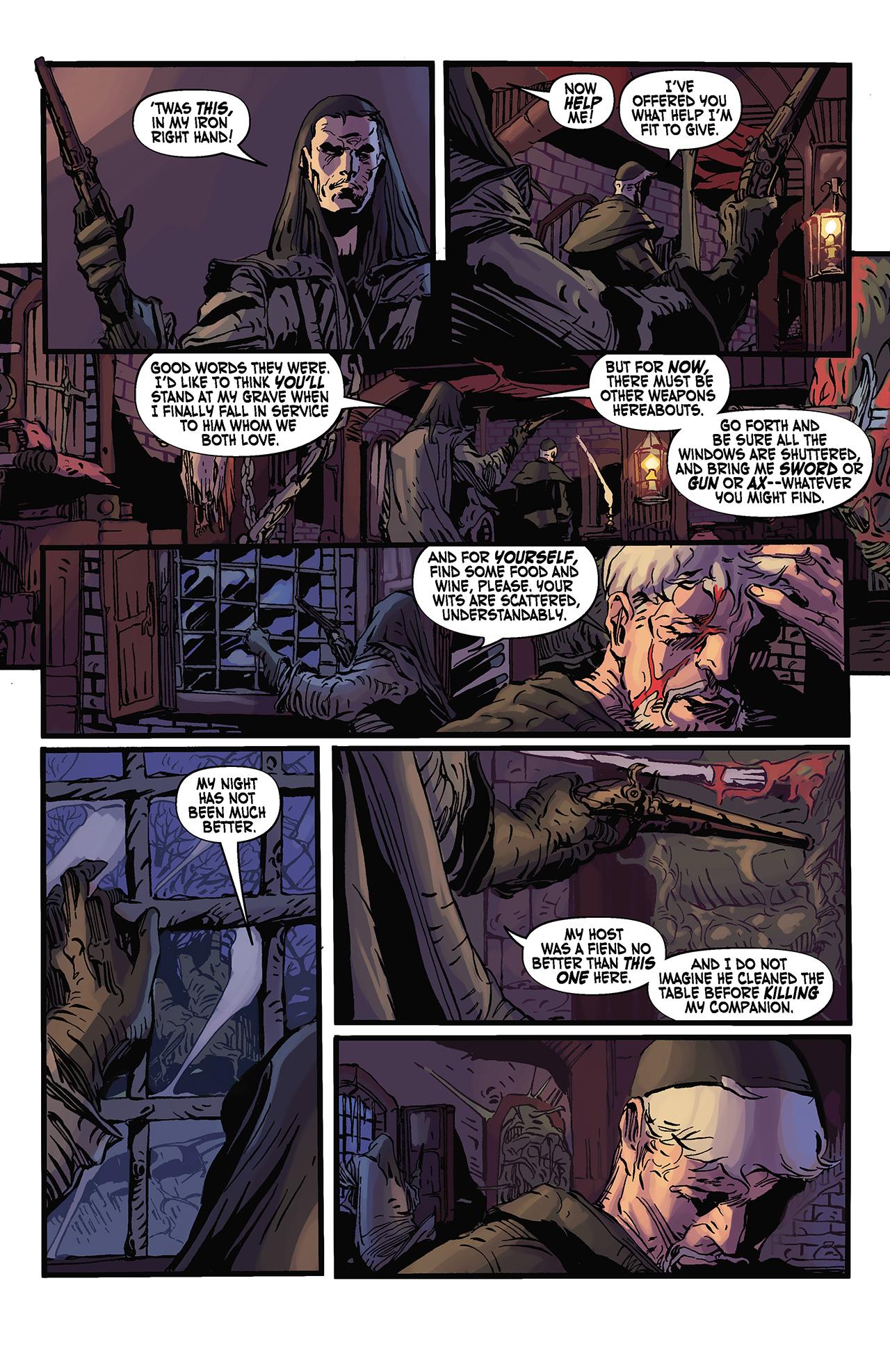 Read online Solomon Kane: Death's Black Riders comic -  Issue #3 - 9