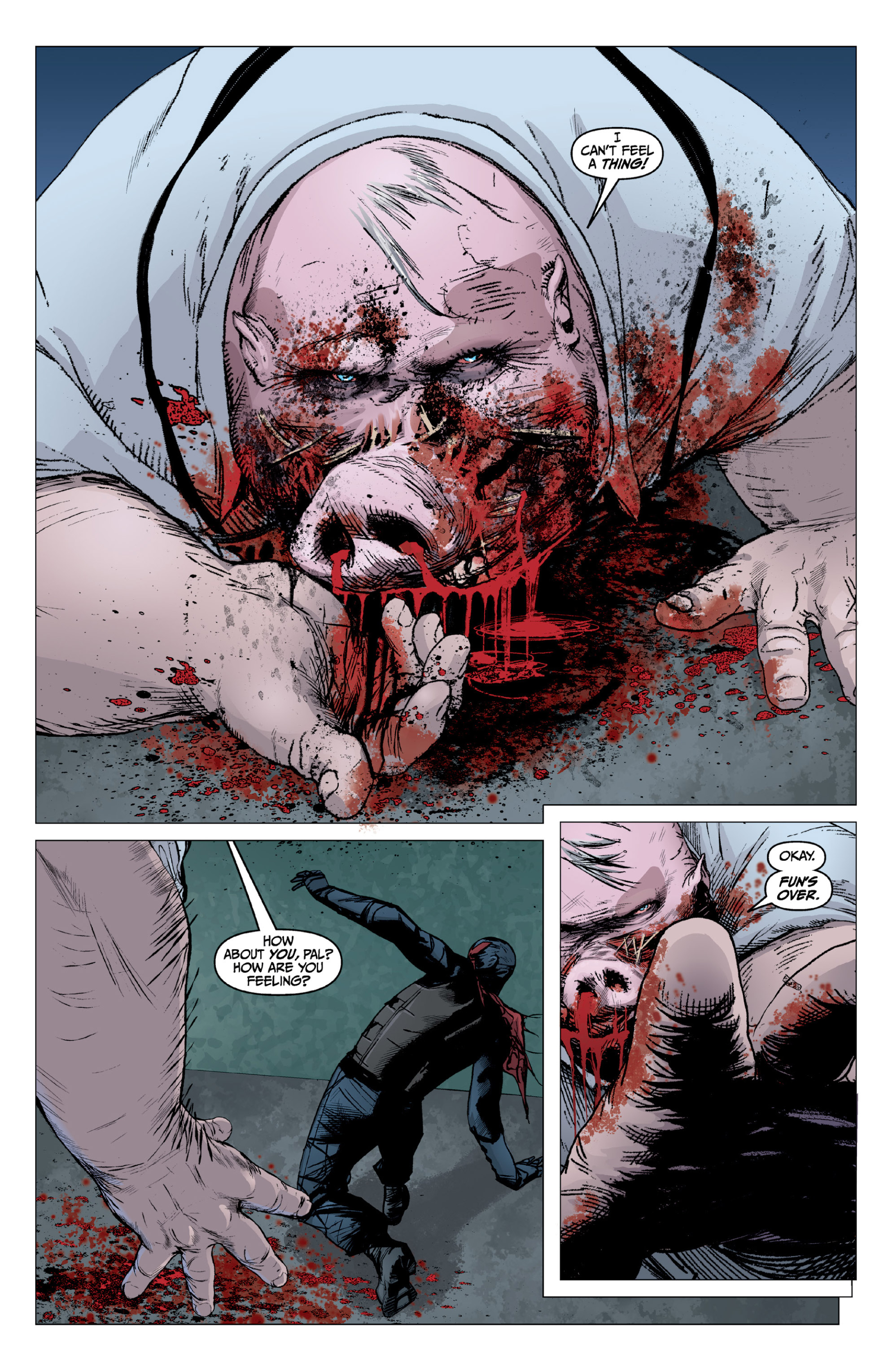 Read online X: Big Bad comic -  Issue # Full - 112