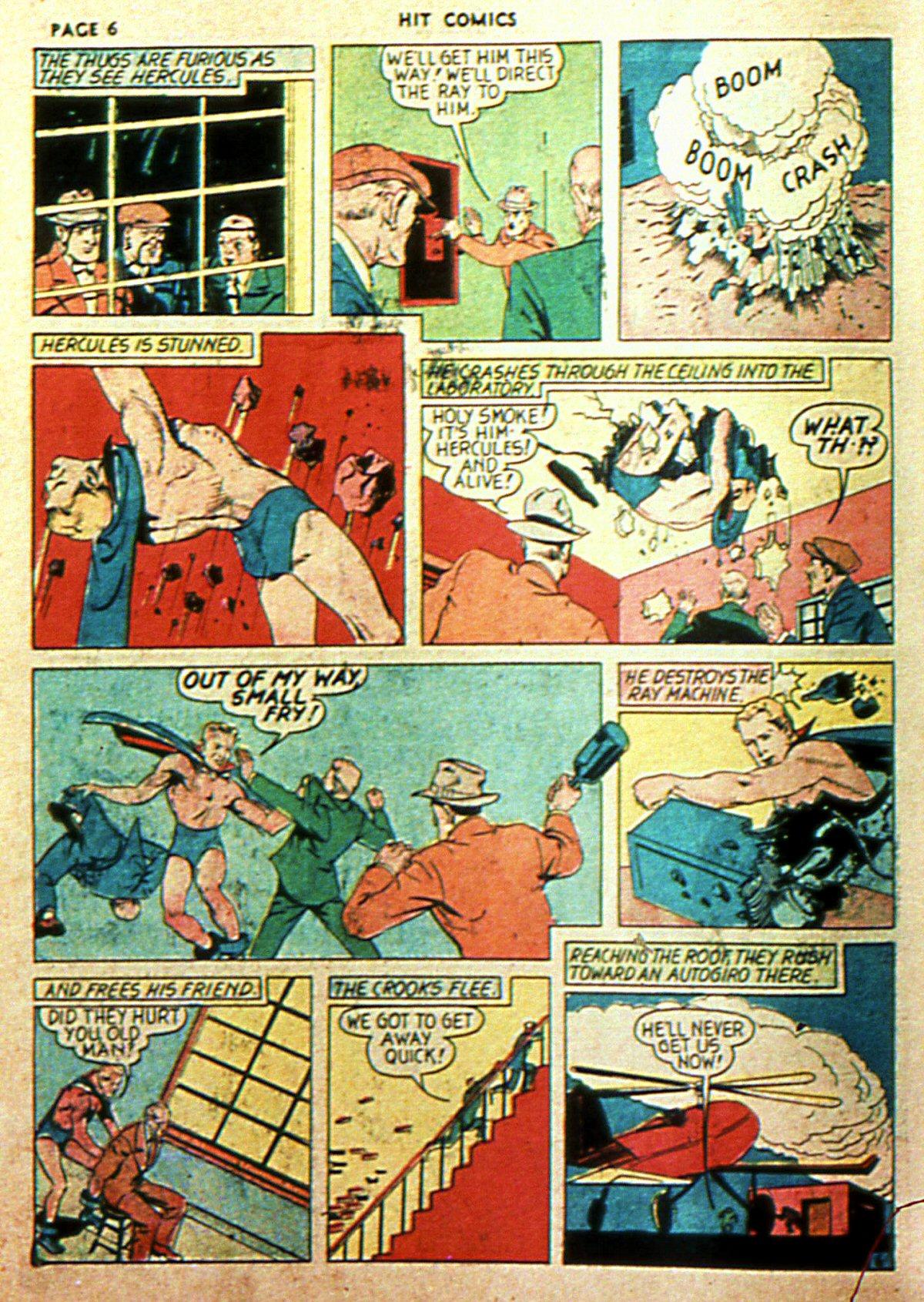 Read online Hit Comics comic -  Issue #2 - 8