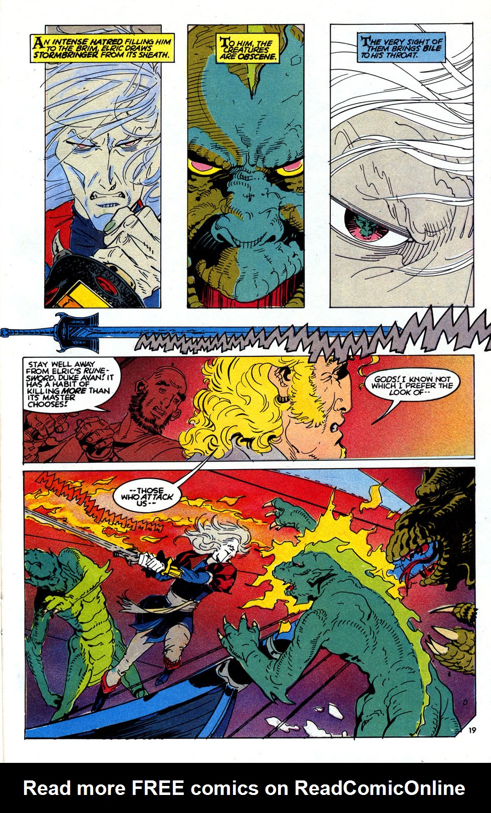 Read online Elric: Sailor on the Seas of Fate comic -  Issue #6 - 22