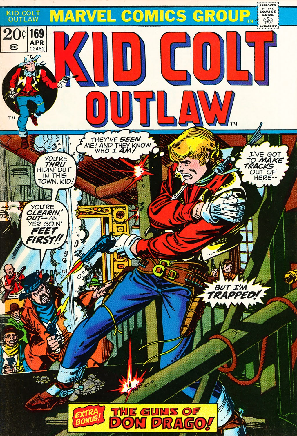 Kid Colt Outlaw issue 169 - Page 1