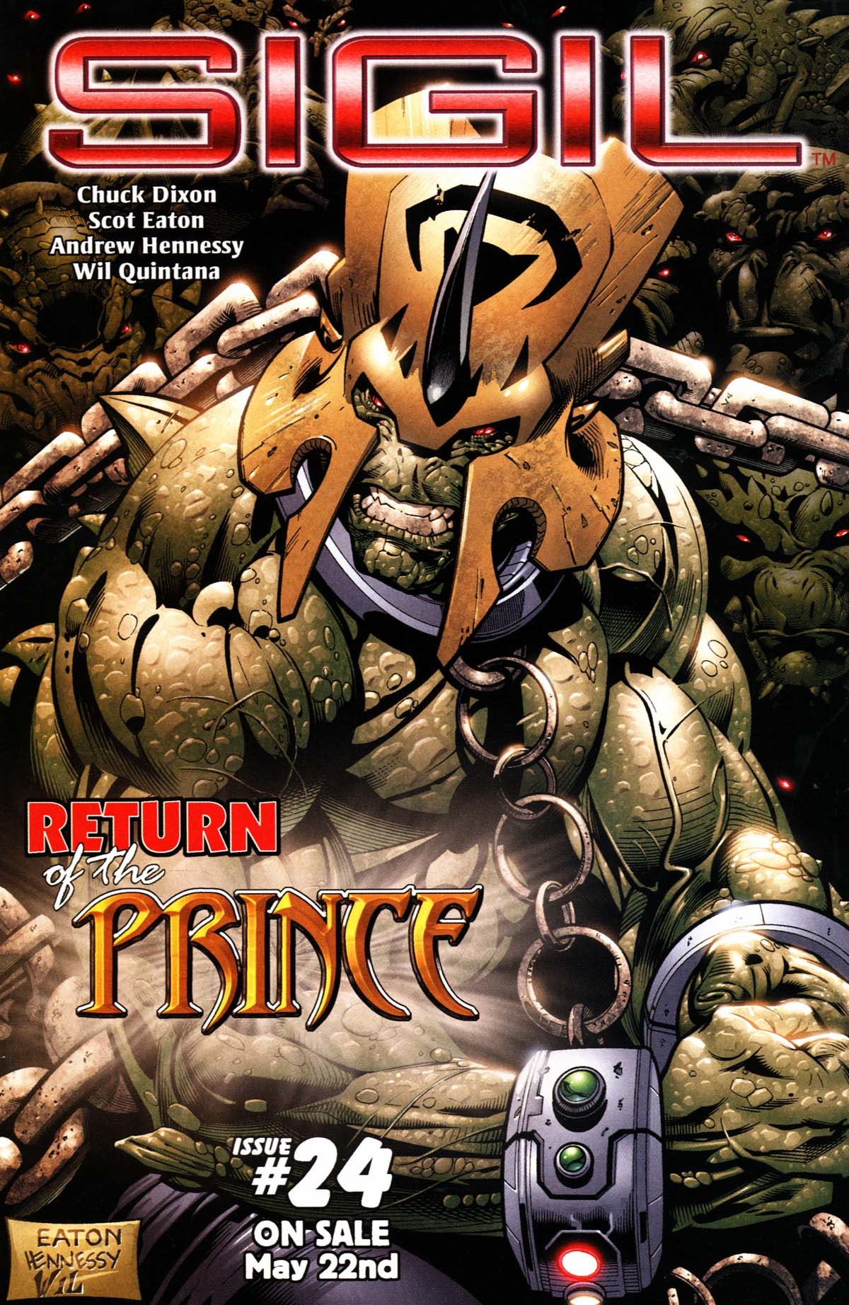 Read online Sigil (2000) comic -  Issue #23 - 38