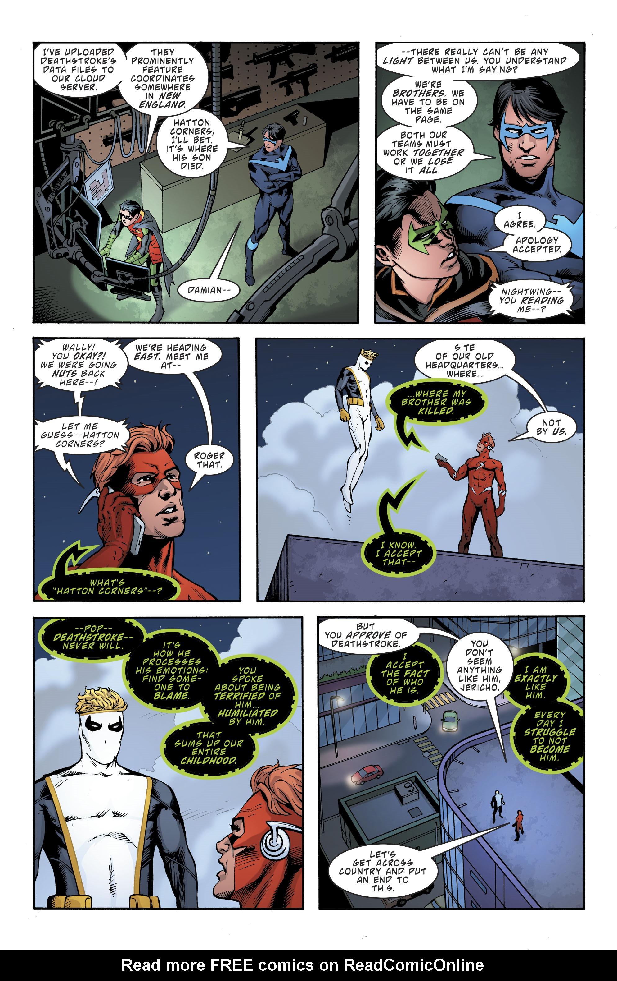 Read online Deathstroke (2016) comic -  Issue #19 - 20