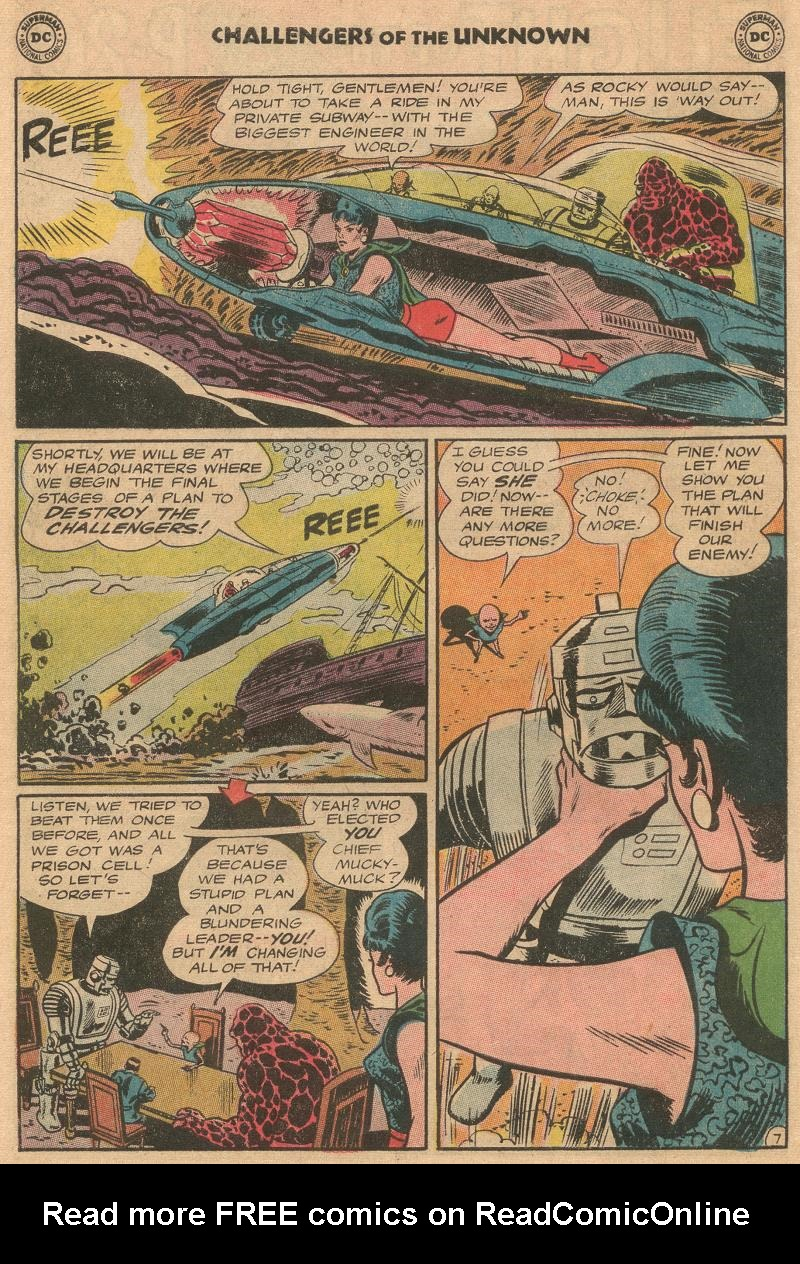 Challengers of the Unknown (1958) issue 45 - Page 10