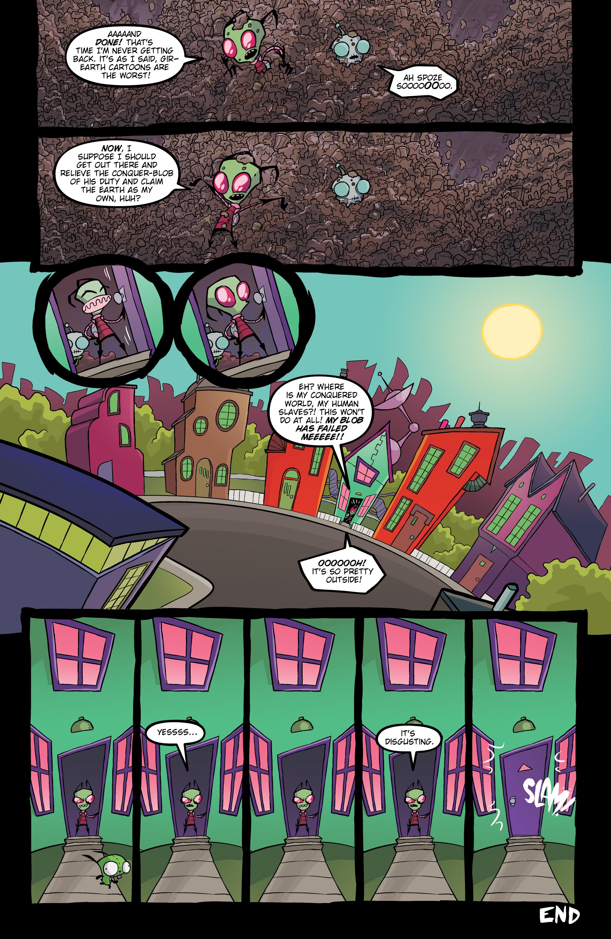 Read online Invader Zim comic -  Issue #20 - 24