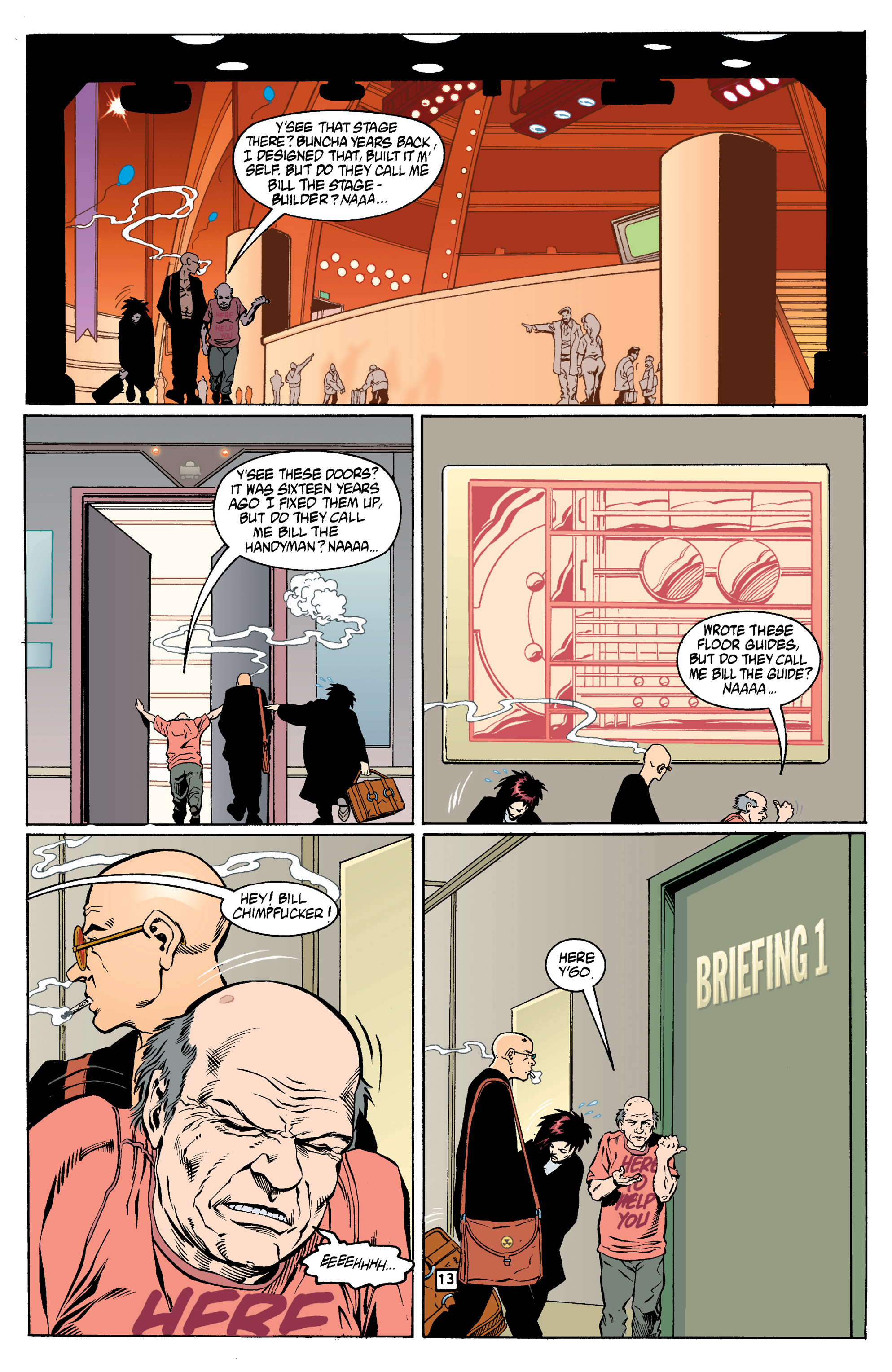 Read online Transmetropolitan comic -  Issue #14 - 14