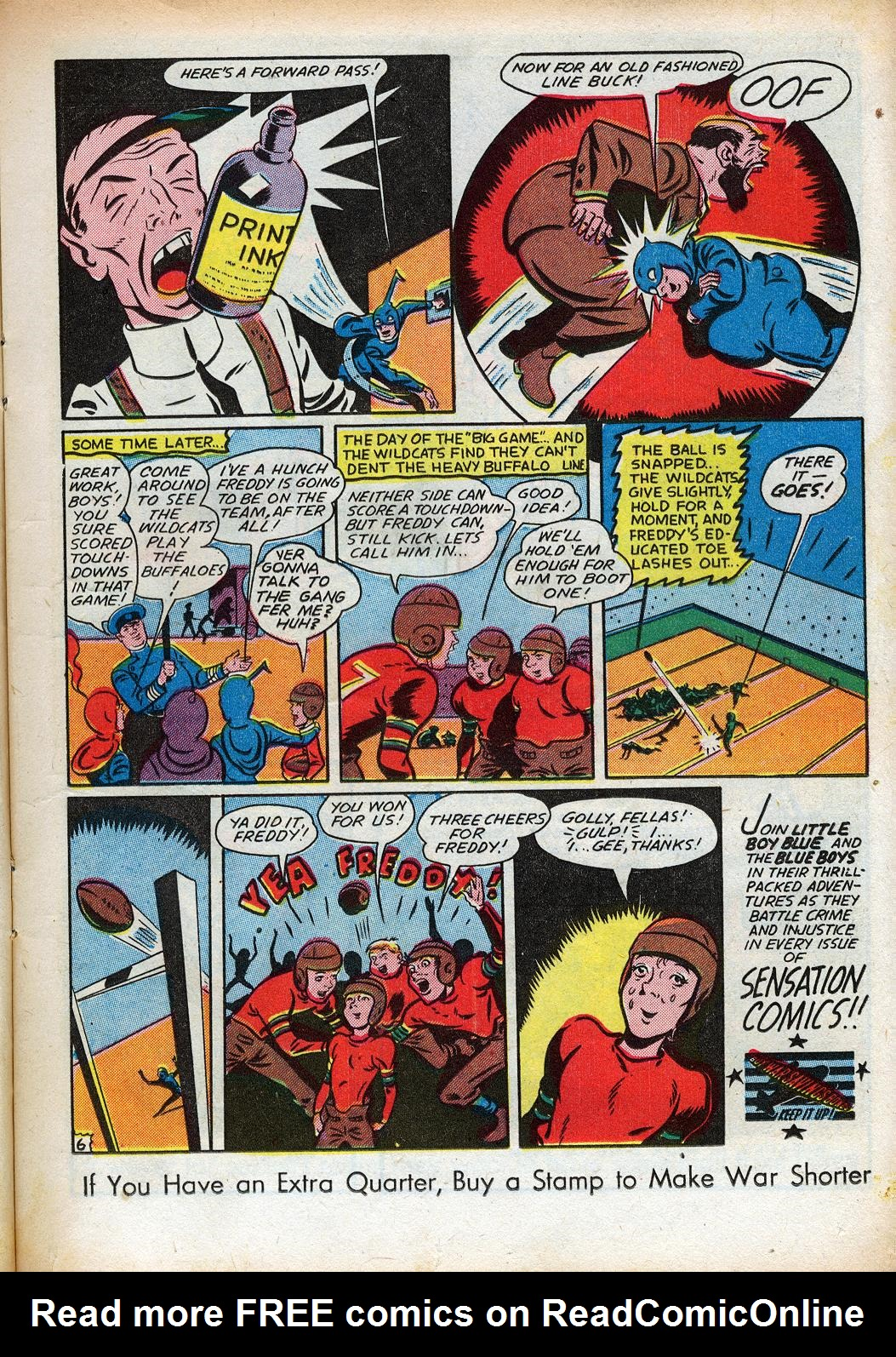 Read online Sensation (Mystery) Comics comic -  Issue #33 - 21