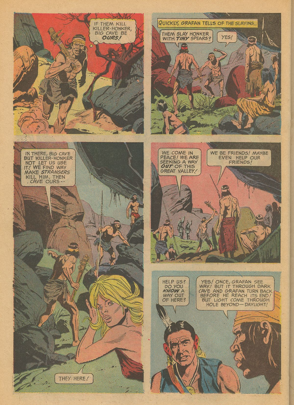 Read online Turok, Son of Stone comic -  Issue #60 - 22