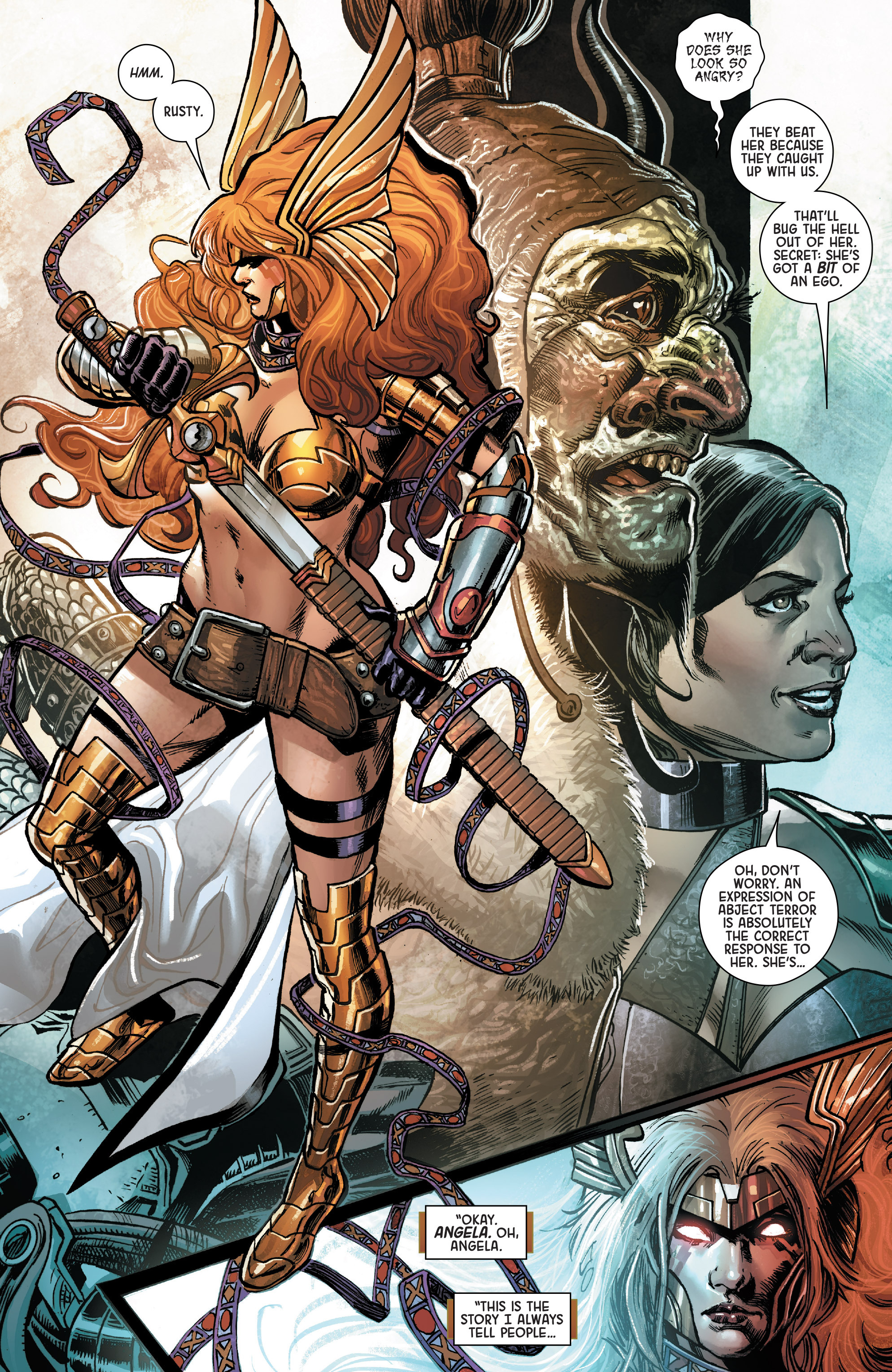 Read online Angela: Asgard's Assassin comic -  Issue #1 - 12