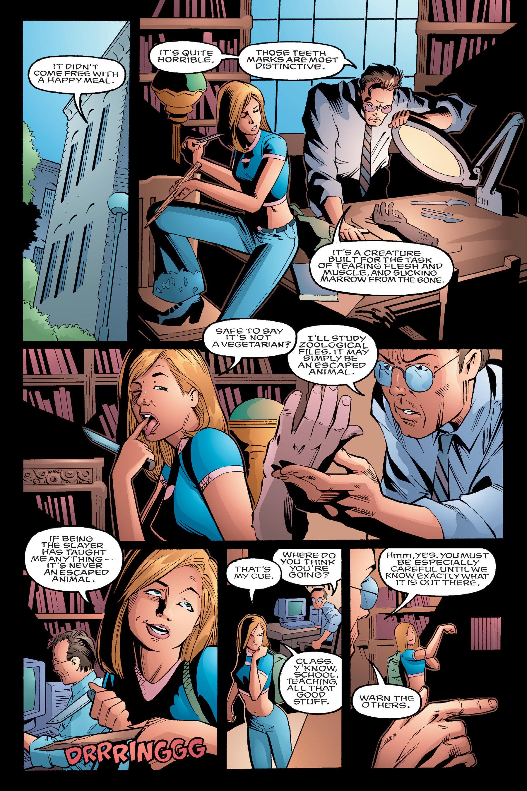 Read online Buffy the Vampire Slayer: Omnibus comic -  Issue # TPB 4 - 14
