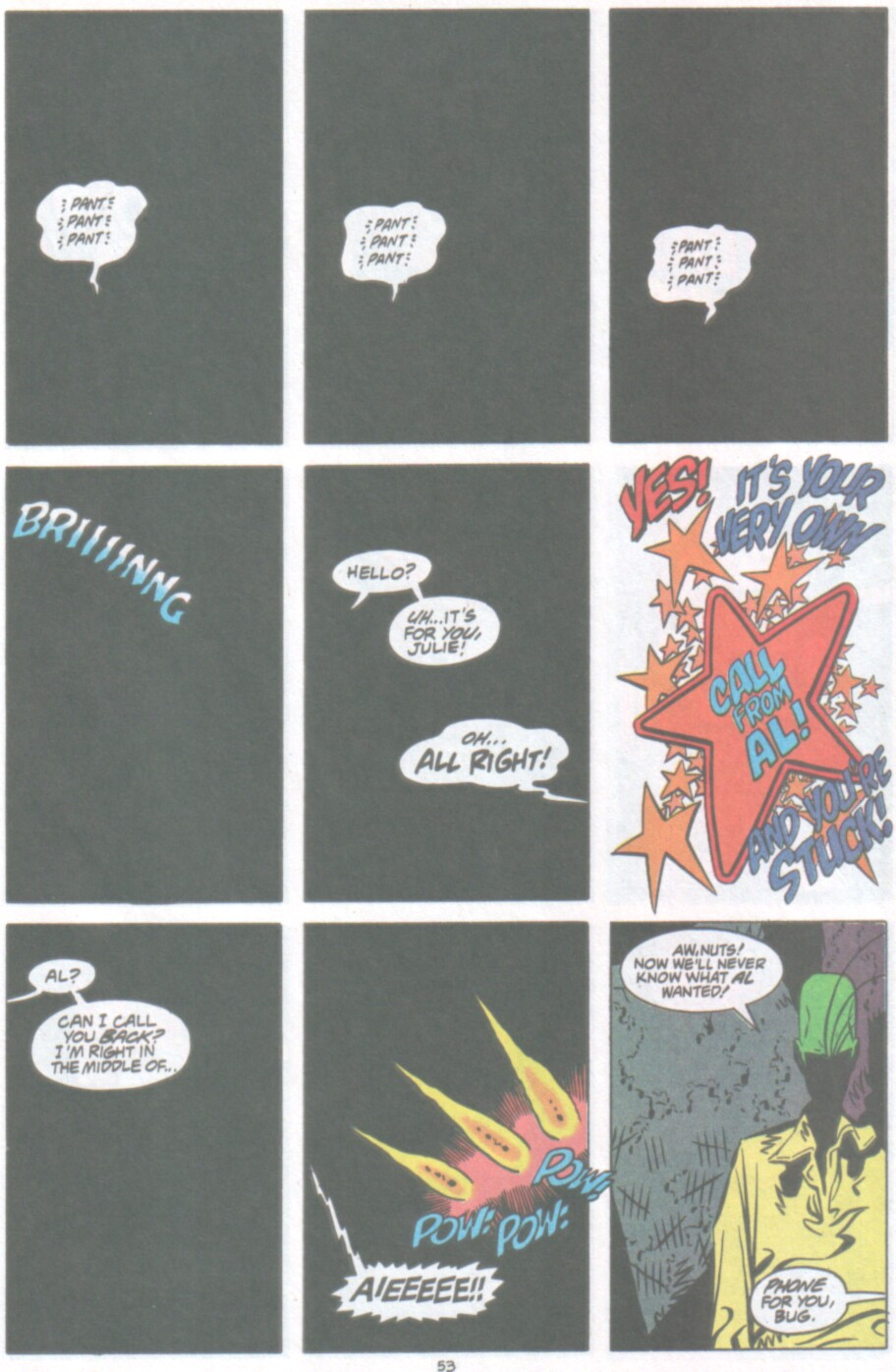 Read online Ambush Bug Nothing Special comic -  Issue # Full - 46