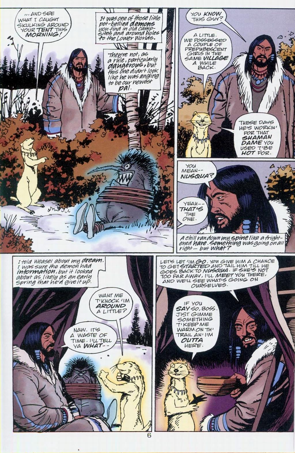 Muktuk Wolfsbreath: Hard-Boiled Shaman issue 1 - Page 6