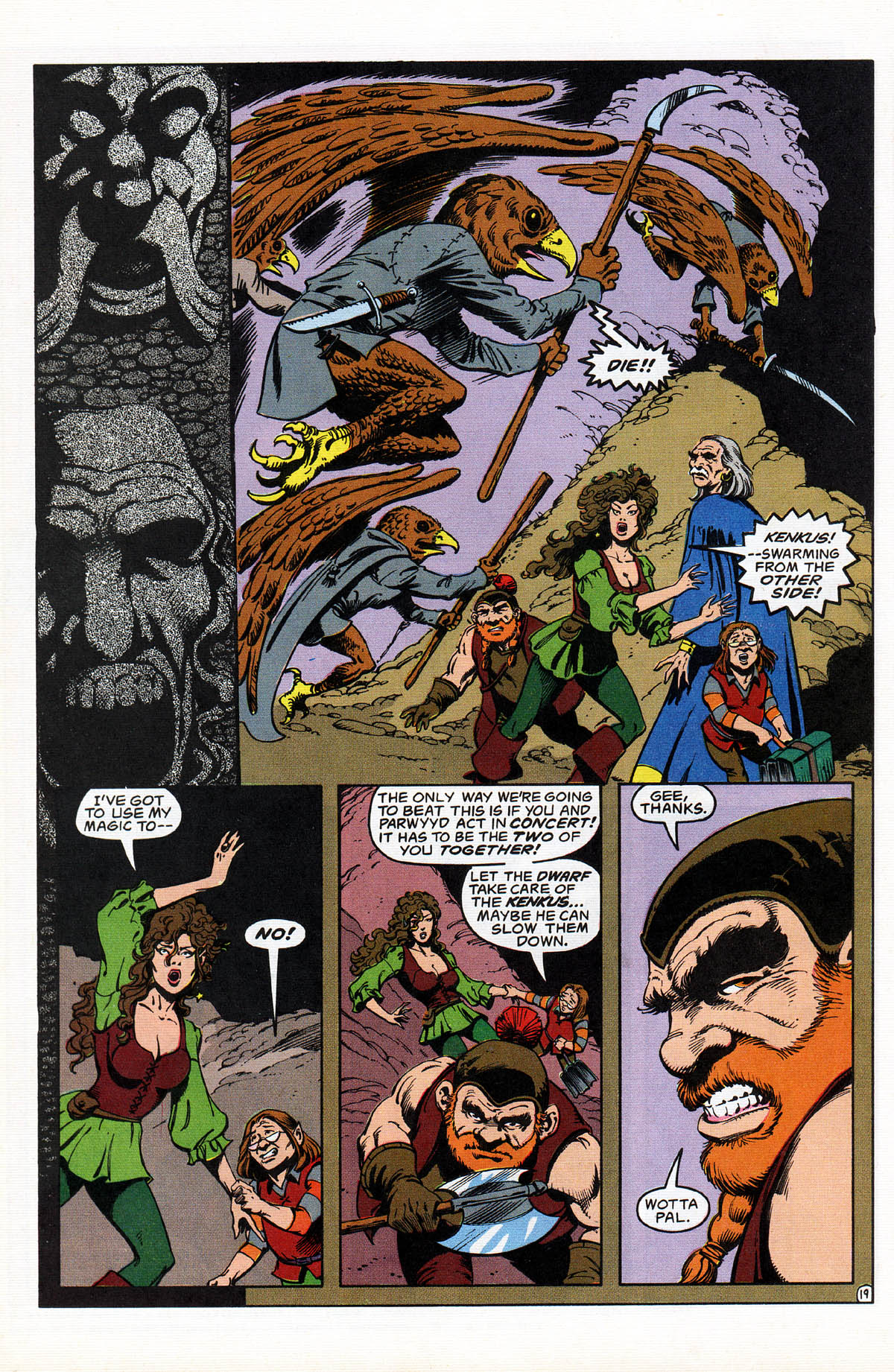 Read online Advanced Dungeons & Dragons comic -  Issue #17 - 23