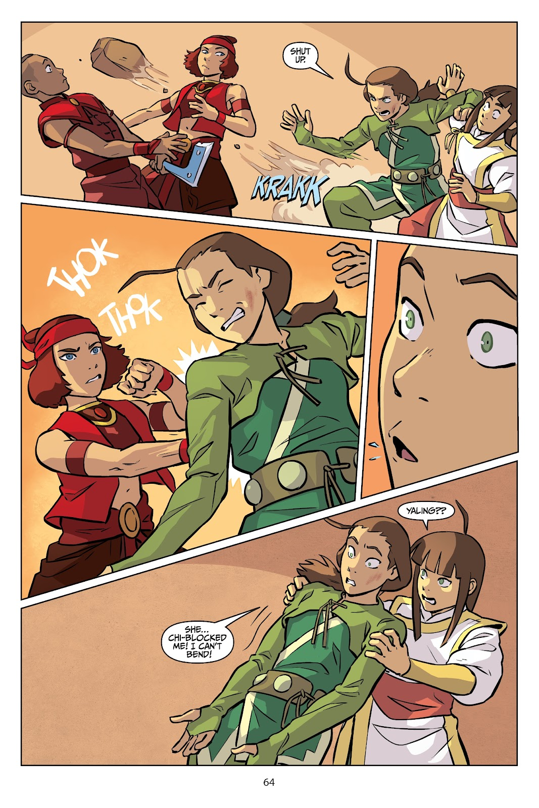 Read online Nickelodeon Avatar: The Last Airbender - Imbalance comic -  Issue # TPB 2 - 65