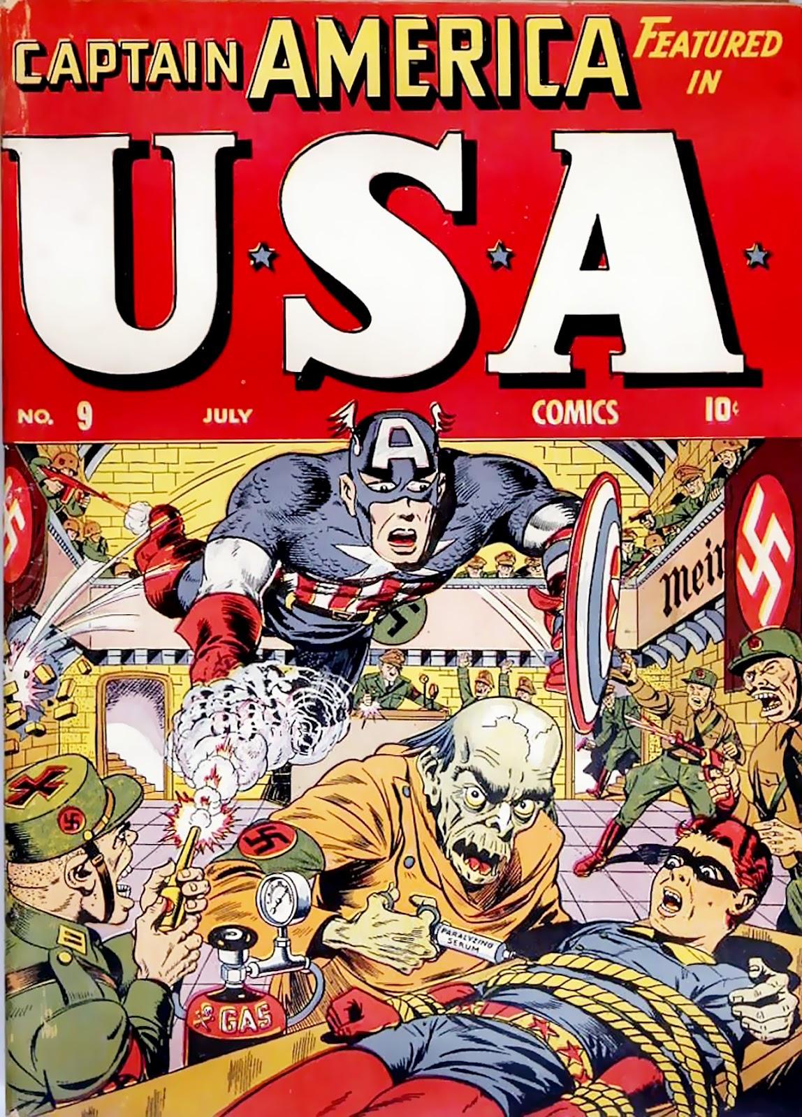 USA Comics issue 9 - Page 1
