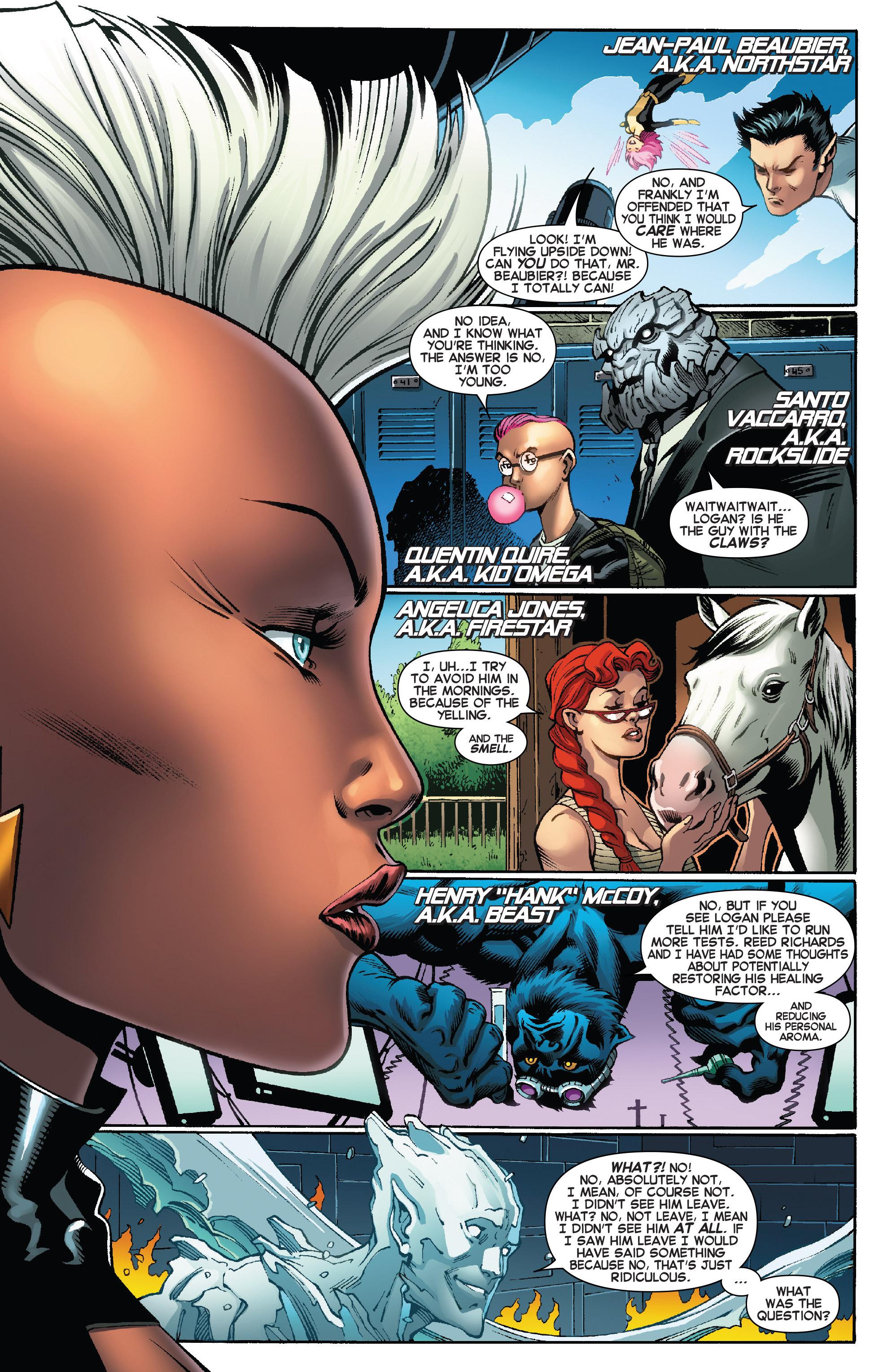 Read online Amazing X-Men (2014) comic -  Issue #8 - 9