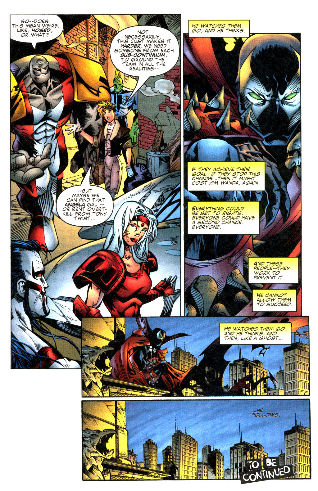 Read online Shattered Image comic -  Issue #2 - 23