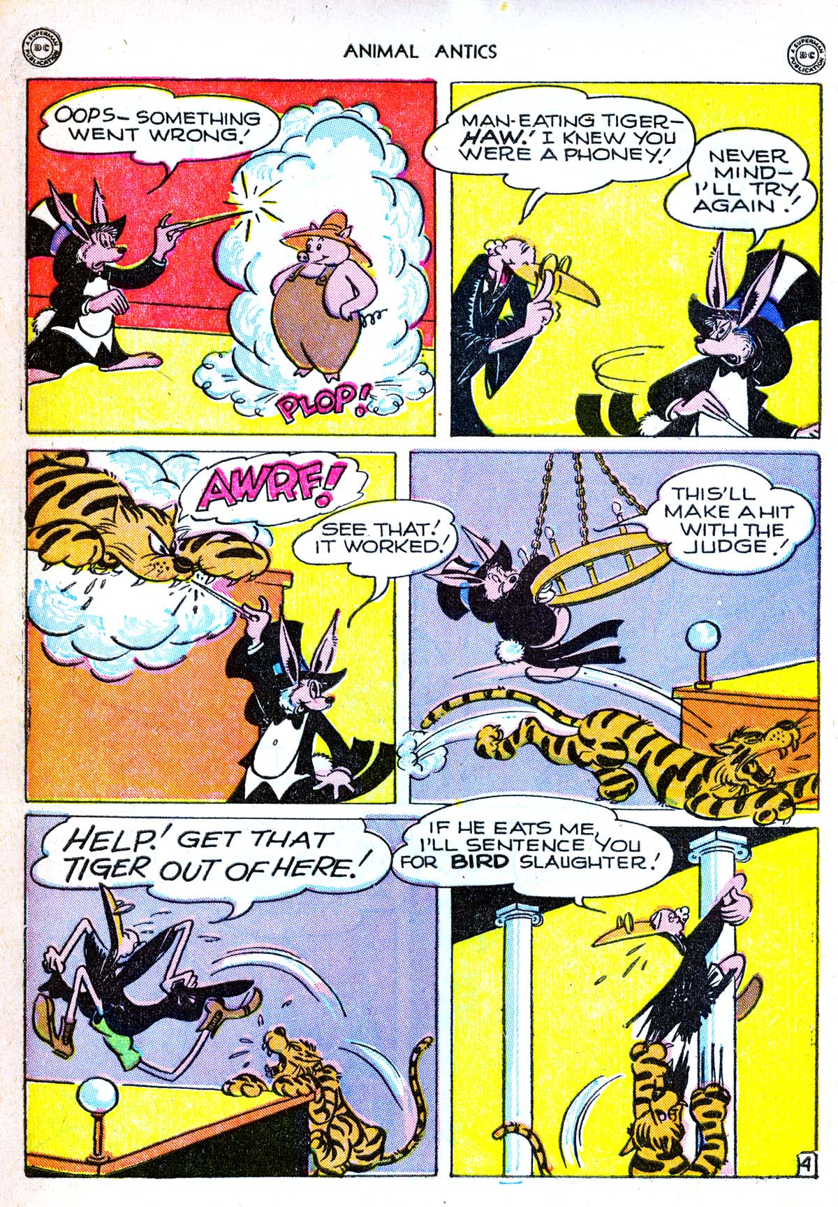 Read online Animal Antics comic -  Issue #6 - 6