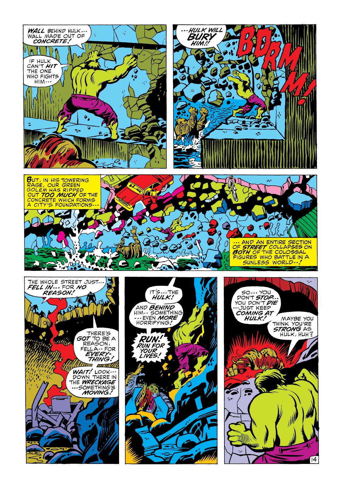 Read online Marvel Masterworks: The Incredible Hulk comic -  Issue # TPB 6 (Part 2) - 67