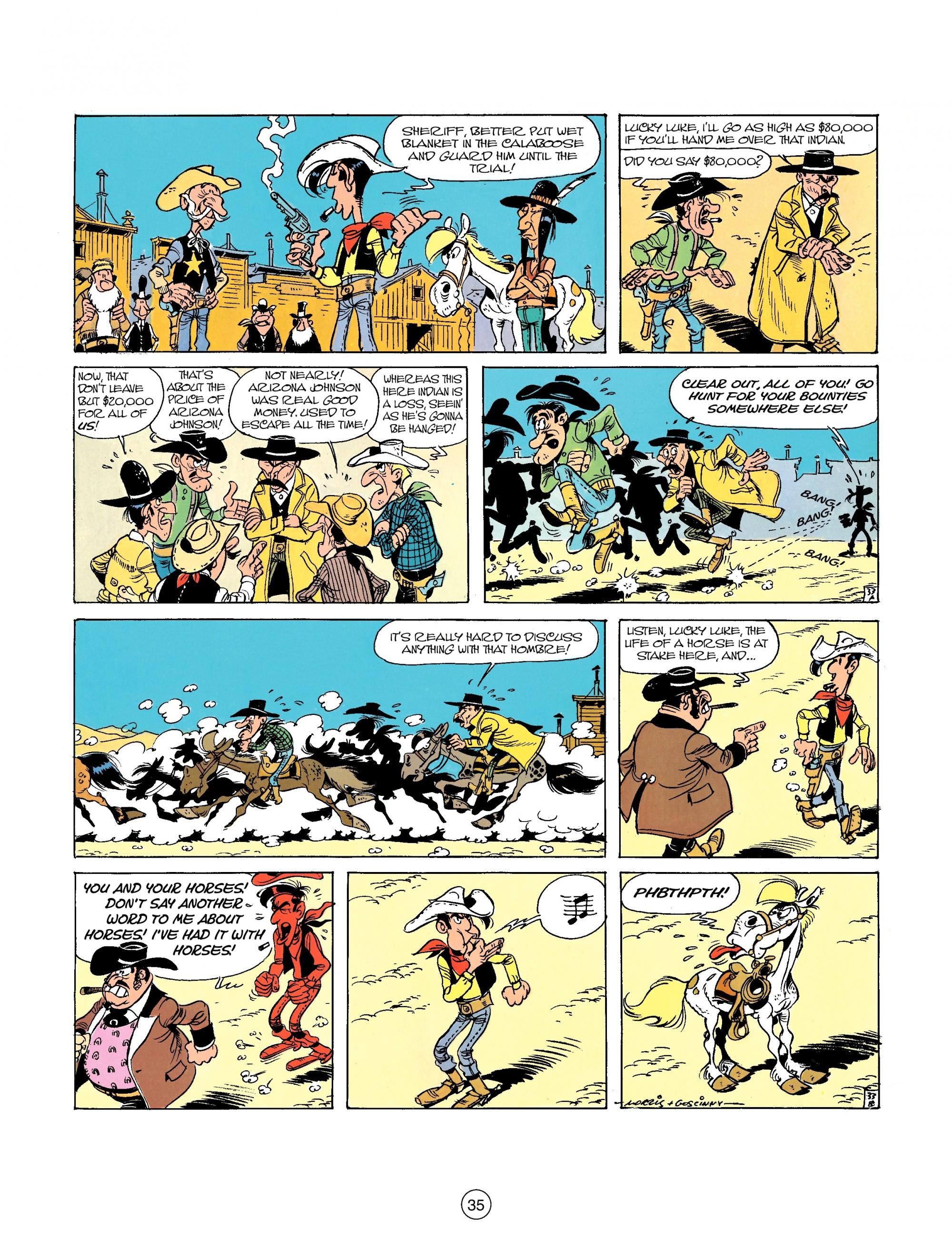 Read online A Lucky Luke Adventure comic -  Issue #26 - 35