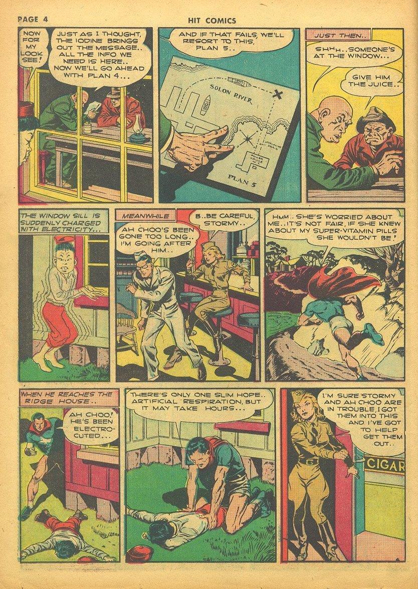 Read online Hit Comics comic -  Issue #24 - 6