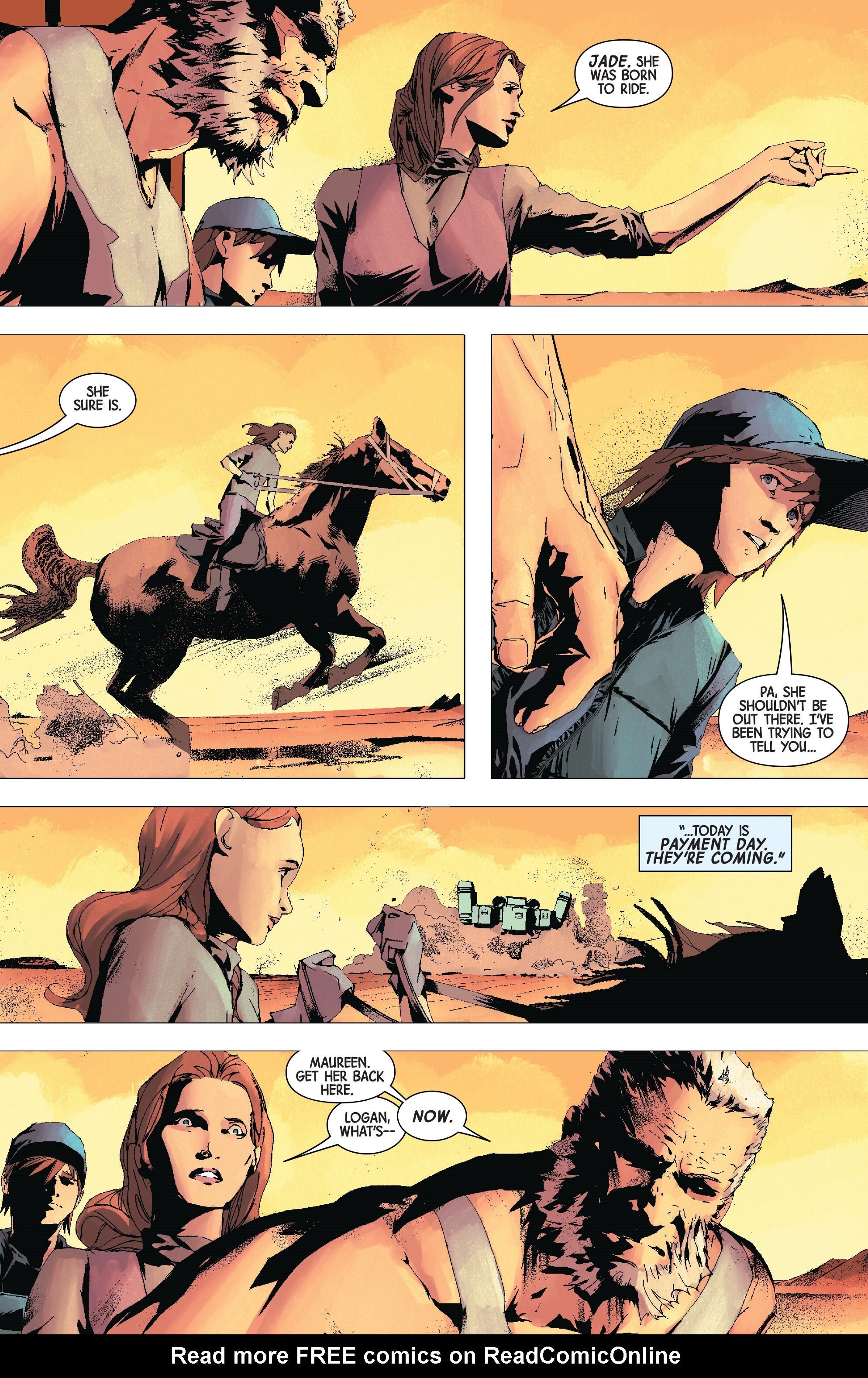 Read online Old Man Logan (2016) comic -  Issue #24 - 10